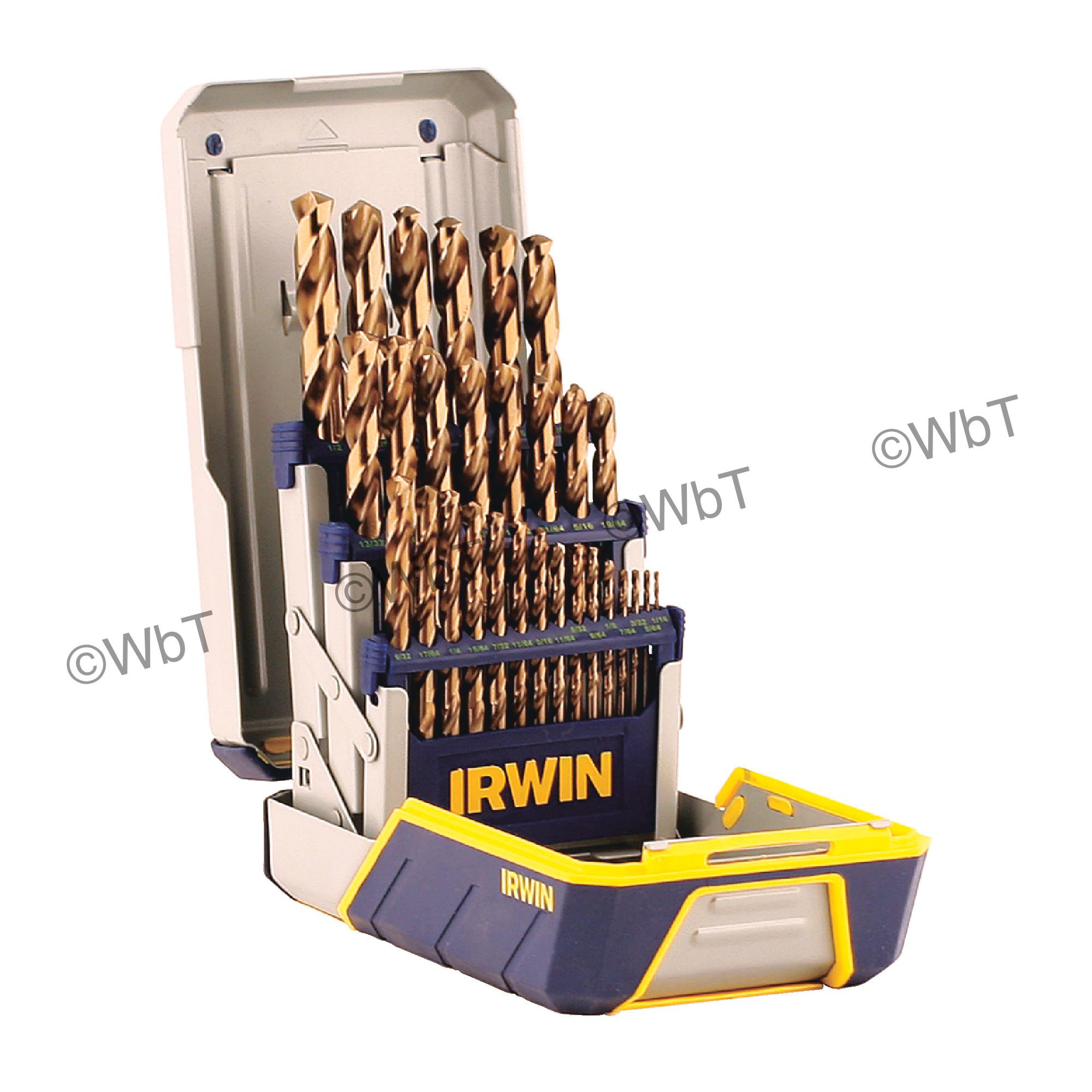 29 Piece Fractional Jobber Length Drill Sets