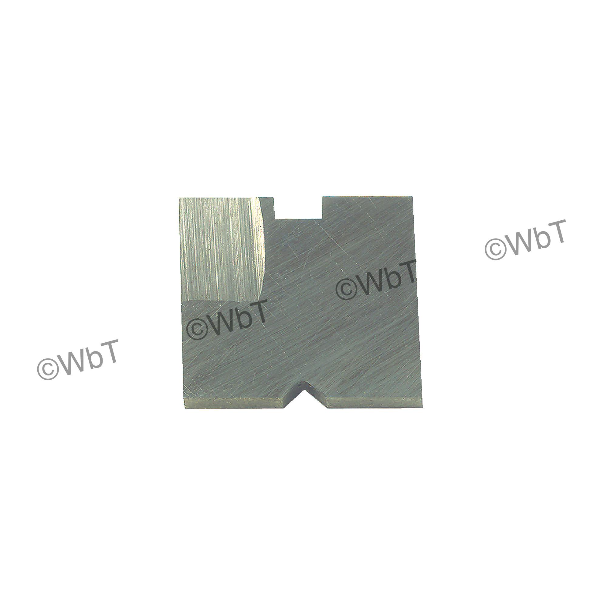 Backward blade for MULTI-TOOL High Speed Steel Backfacer Socket Head Cap Screw Counterbore