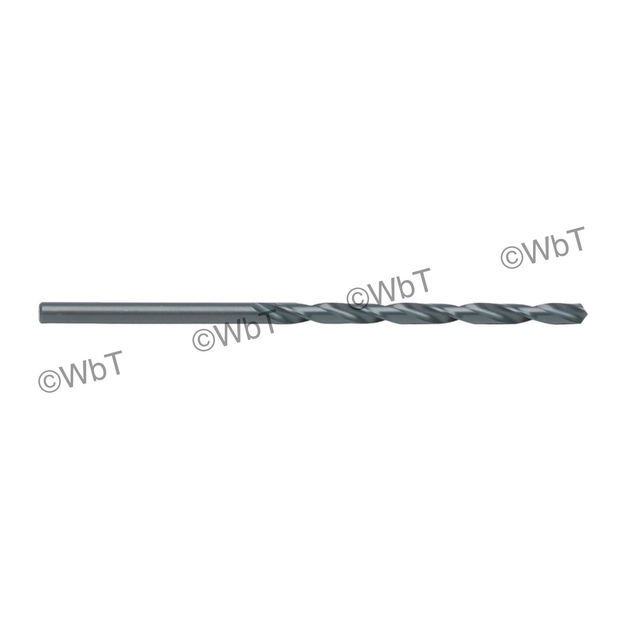 High Speed Steel Taper Length (Long) Drills