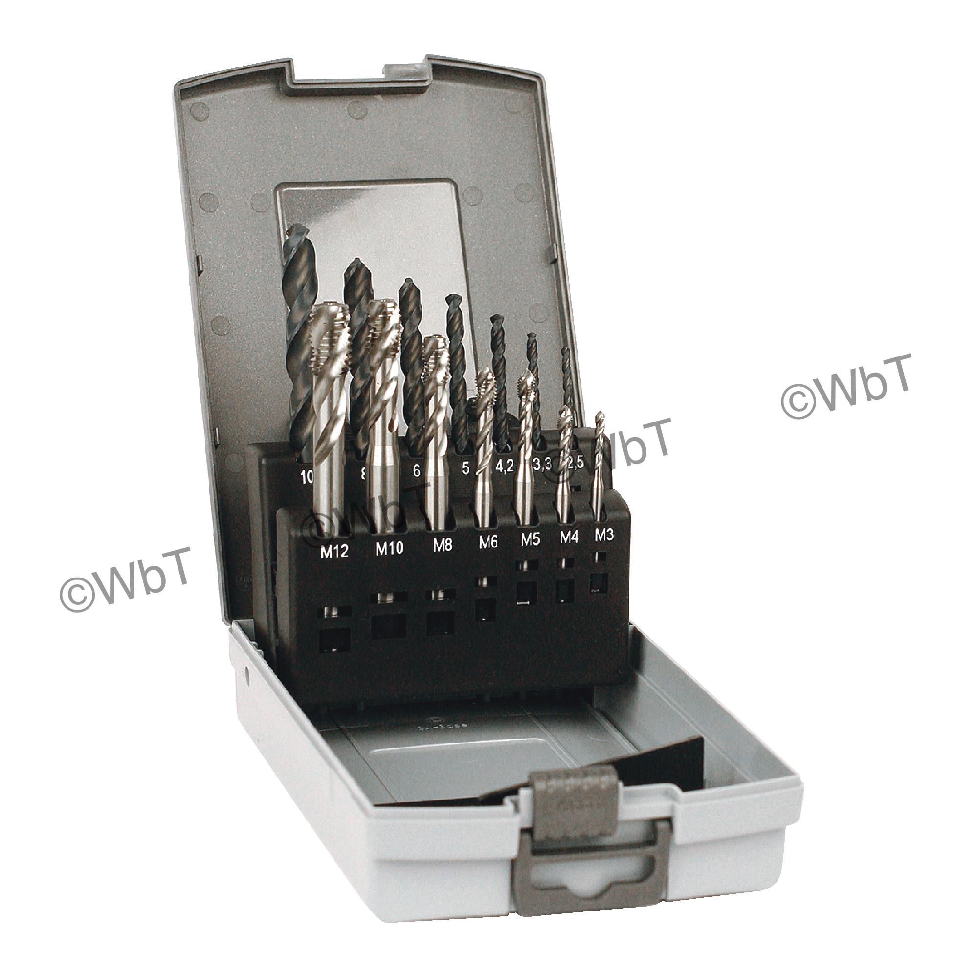 Metric Drill & Tap Set