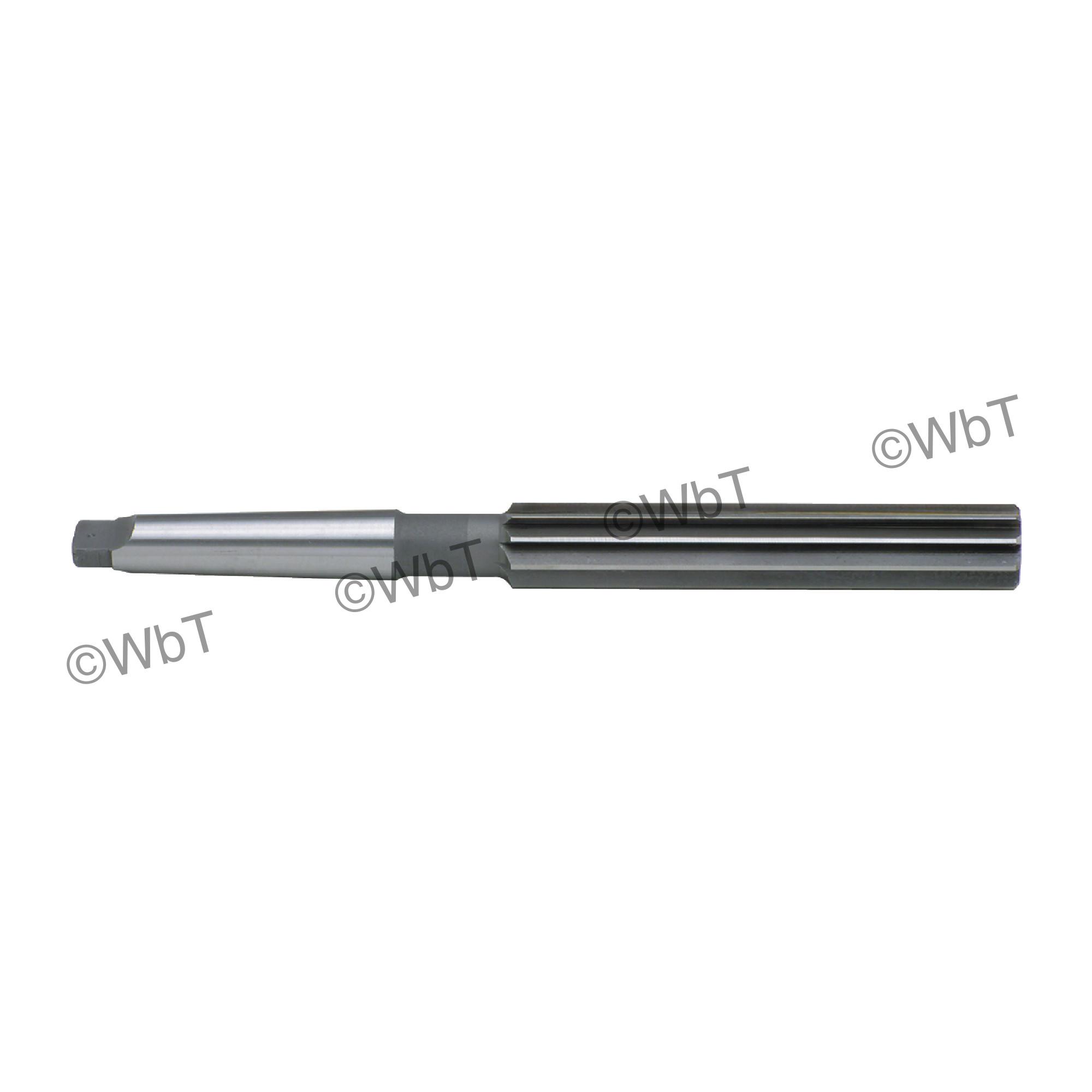 High Speed Steel Taper Shank Jobbers Length Reamers
