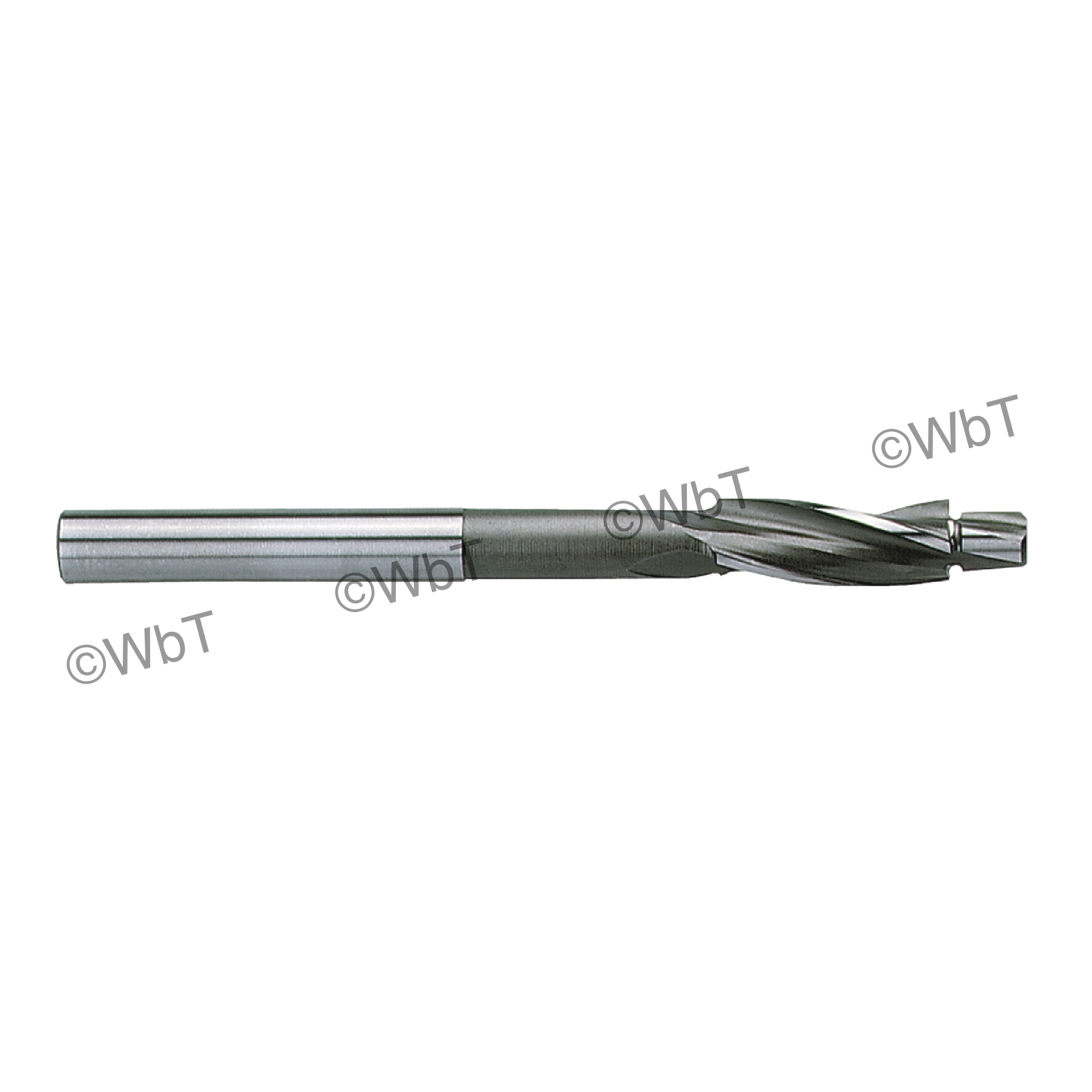 3 Flute High Speed Steel Solid Cap Screw Counterbore