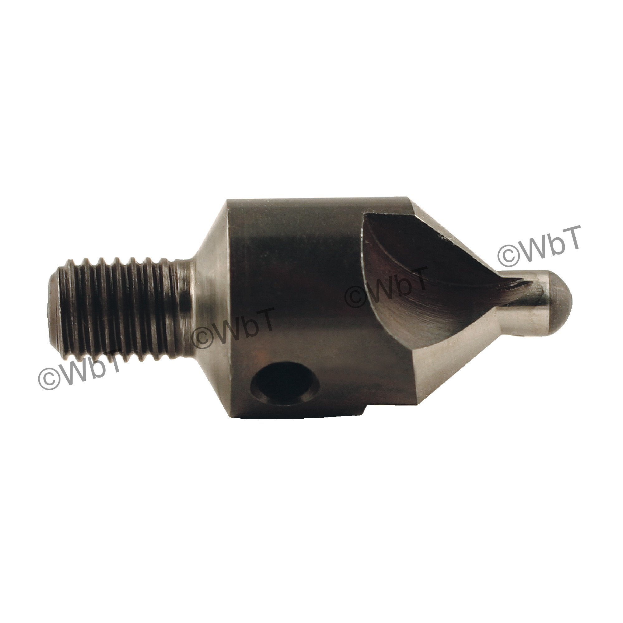Threaded Shank 3 Flute Micro Stop Countersink