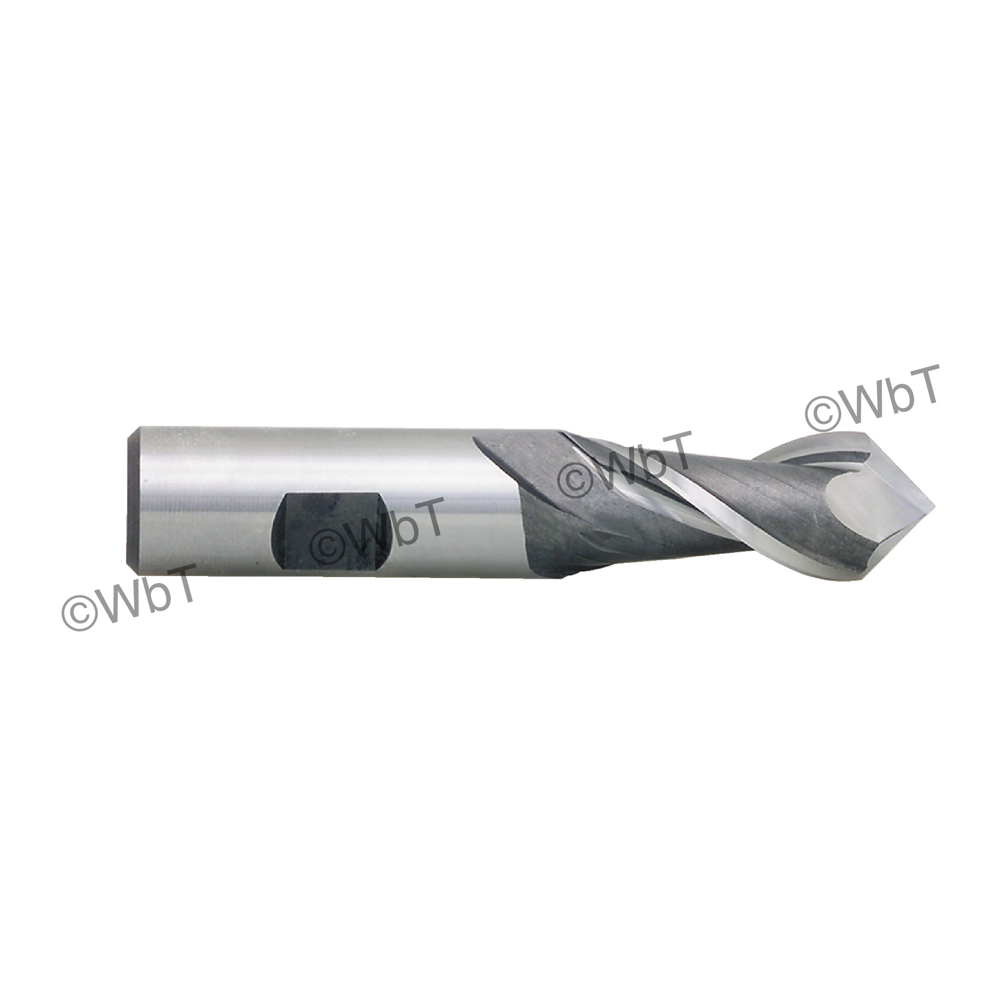 """2 Flute 90°Angle """"Drill-Mill"""" Single End Mill"""