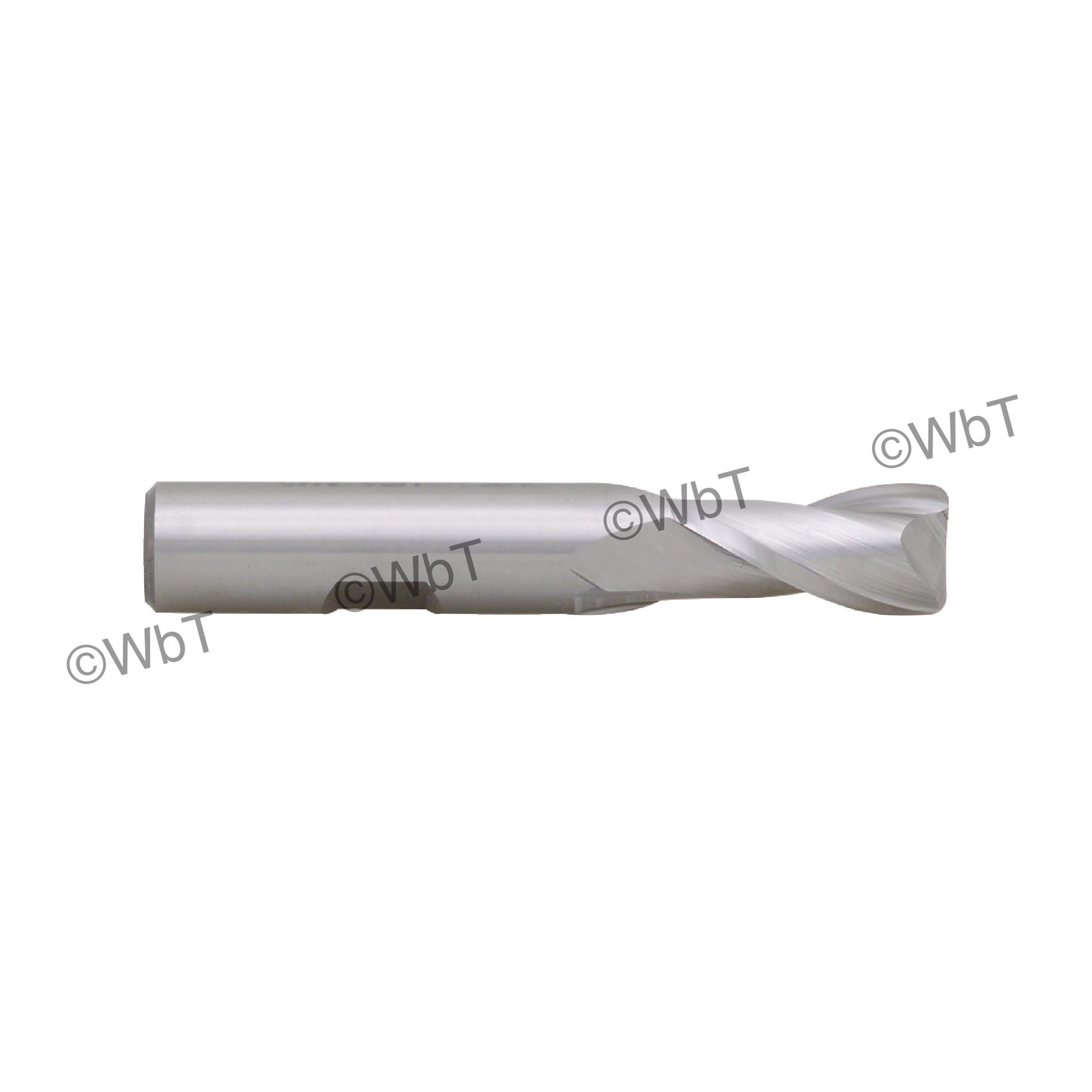 2 Flute M42 8% Cobalt Corner Radius End Mill