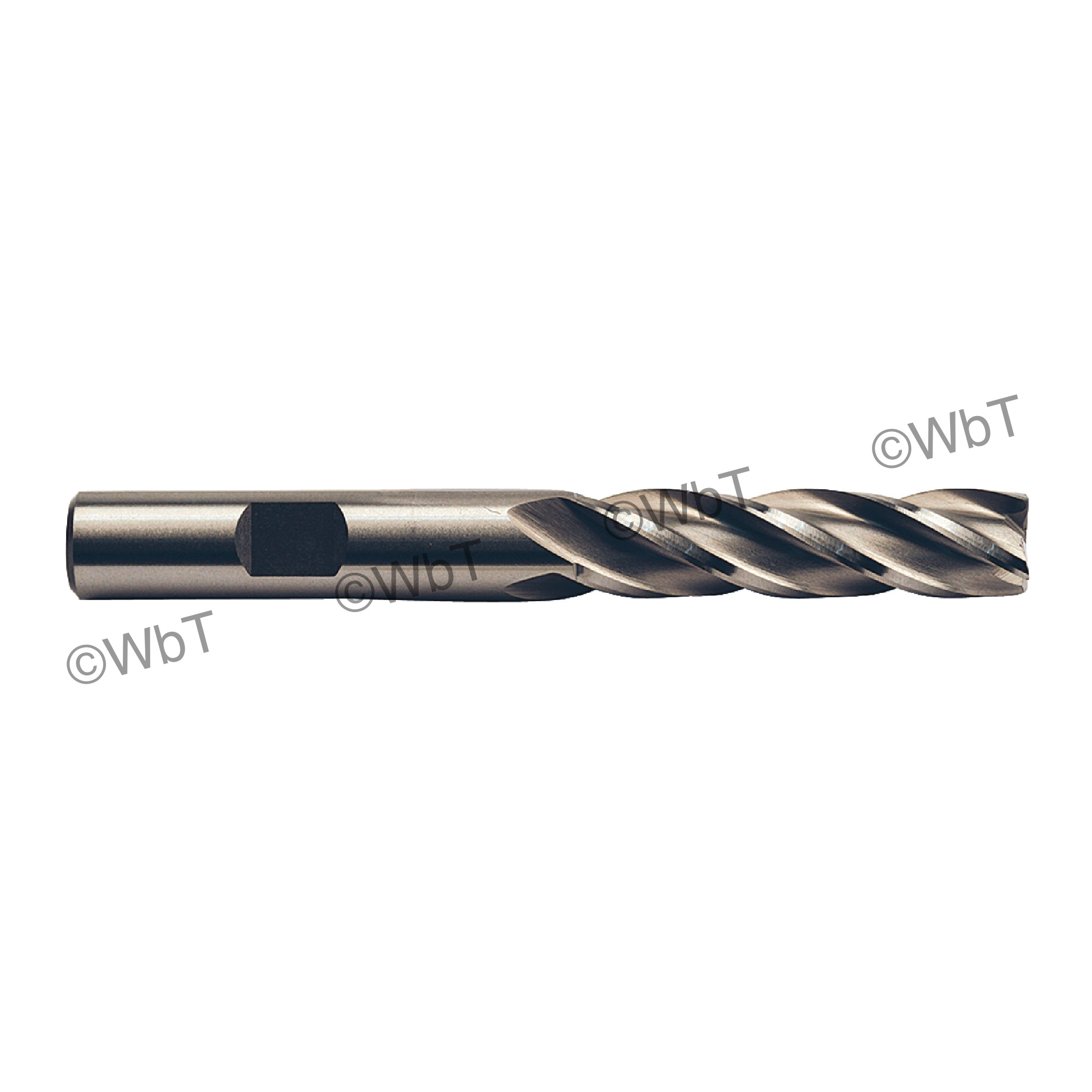 """1"""" Multi Flute Non Center Cutting Long End Mill"""