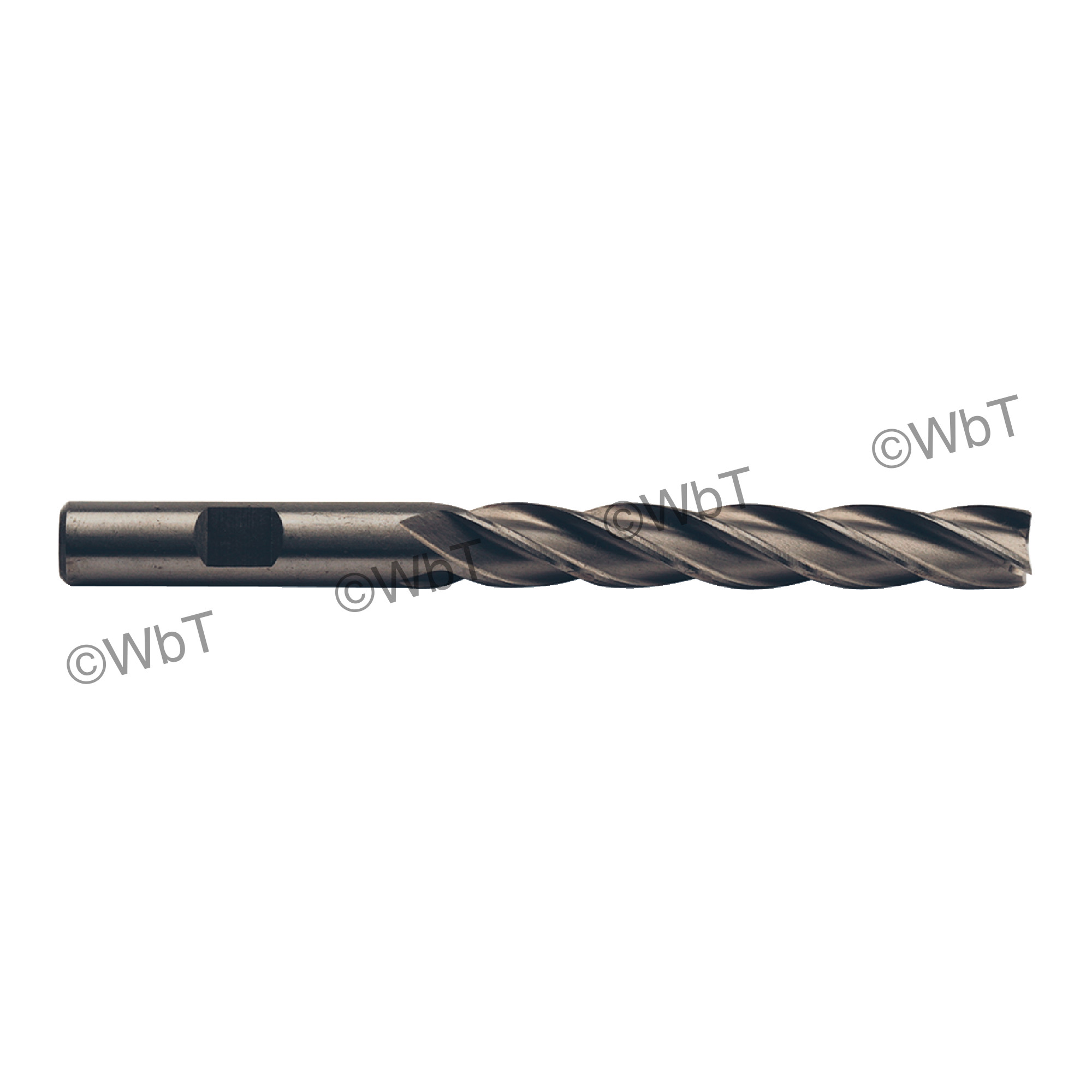"""1"""" Multi Flute Non Center Cutting X-Long End Mill"""