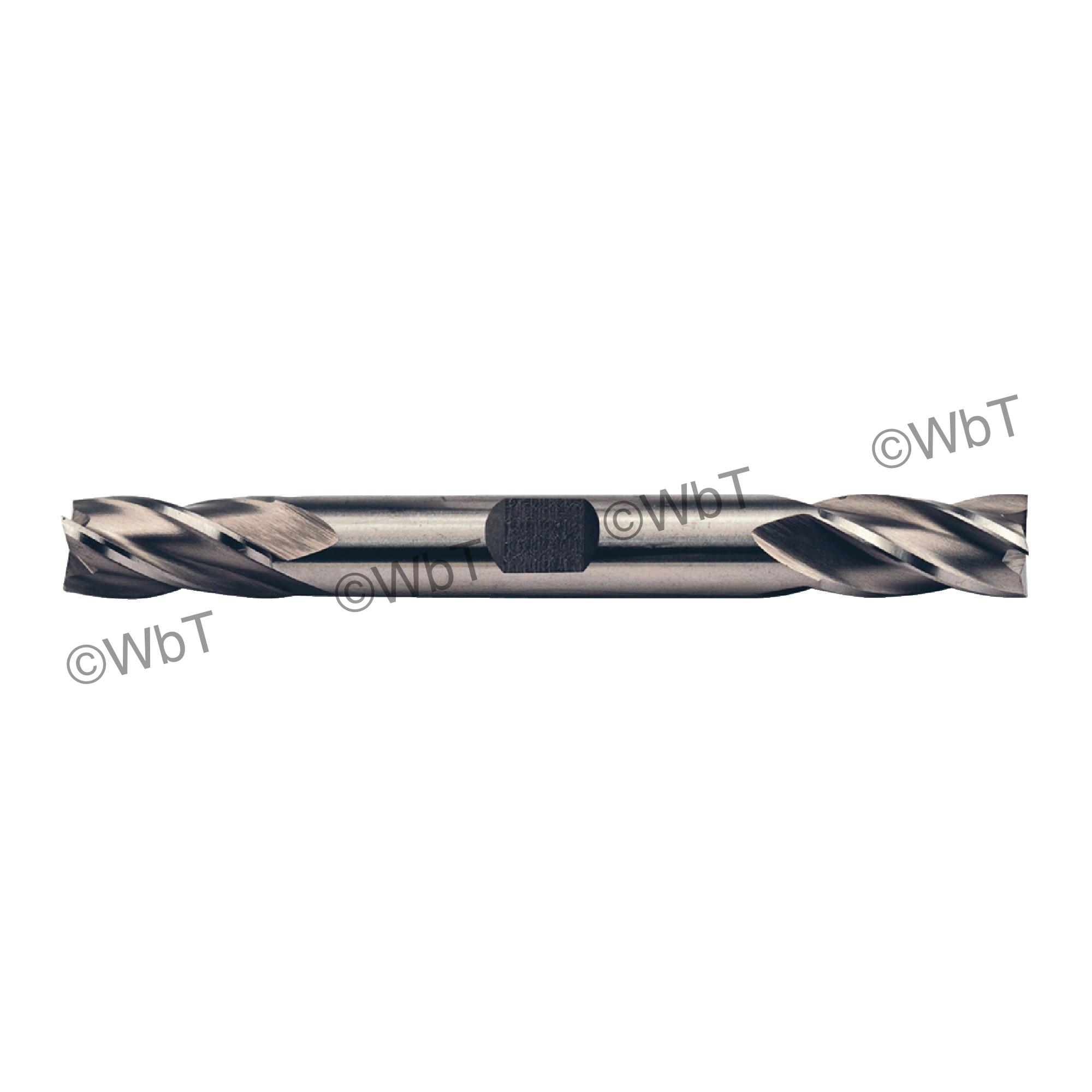 """1"""" 4 Flute M42 8% Cobalt Double End Mill"""