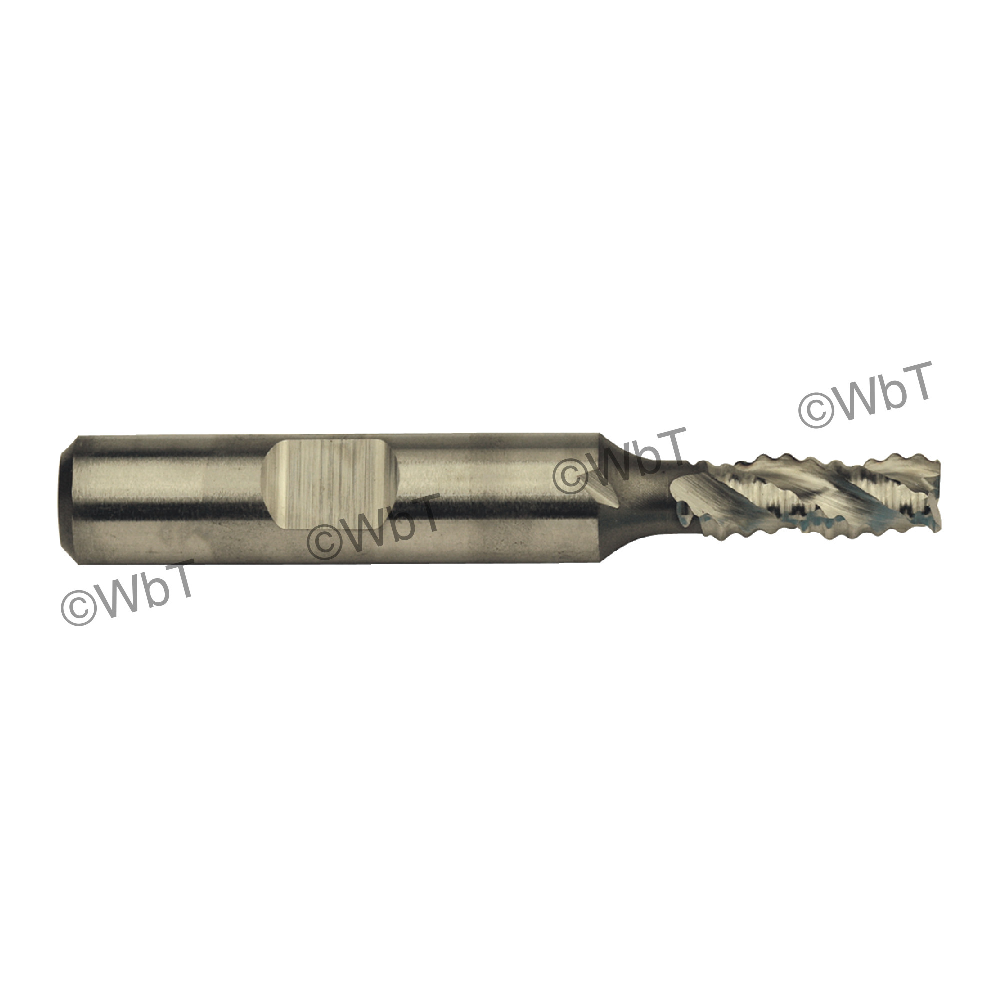 3 Flute M42 8% Cobalt Coarse Pitch Roughing Single End Mill