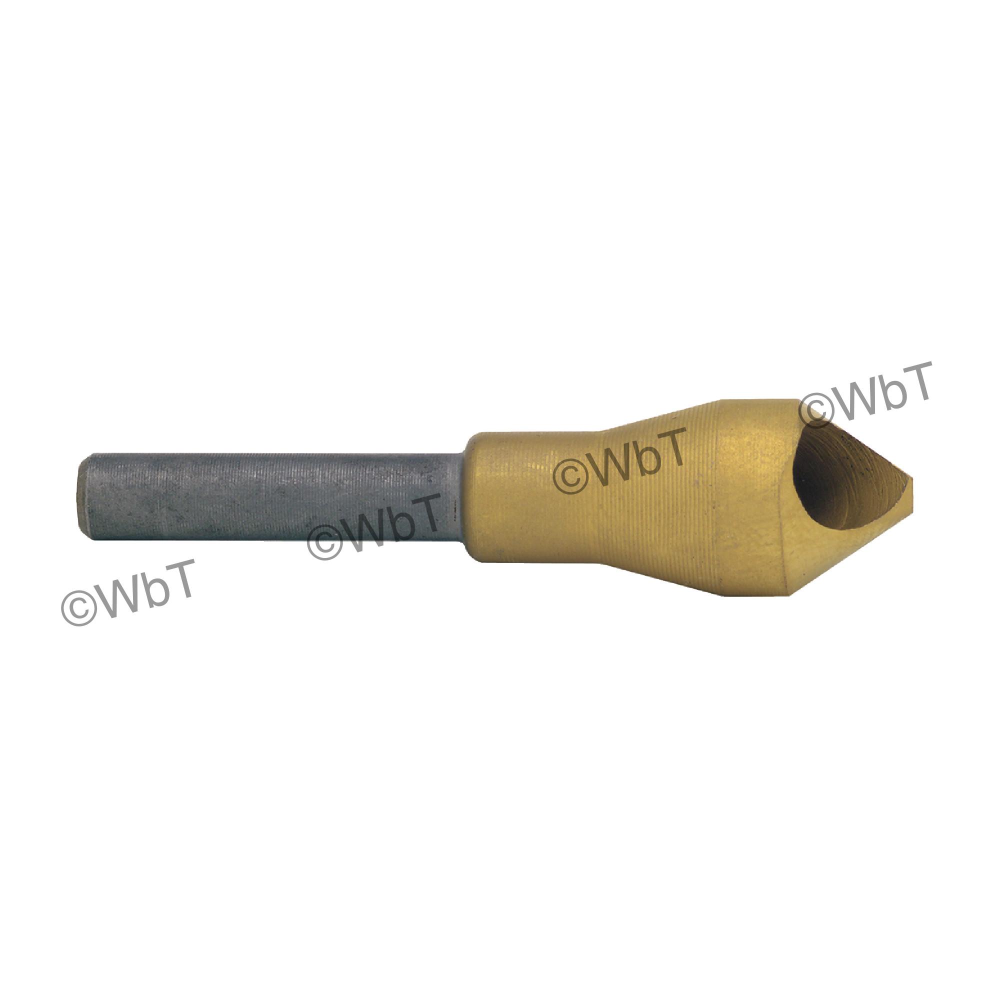 Zero Flute H.S.S. Countersink & Deburring Tool