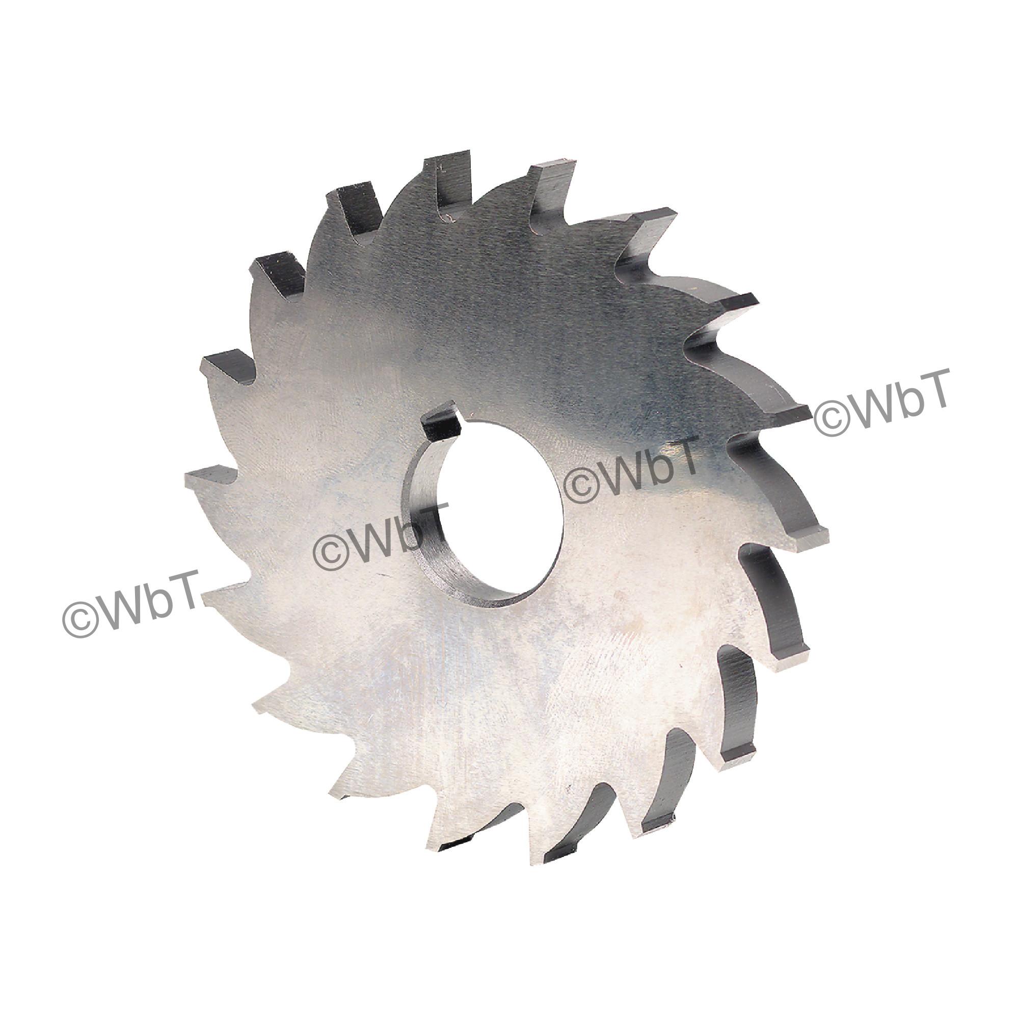 Plain High Speed Steel Milling Cutter