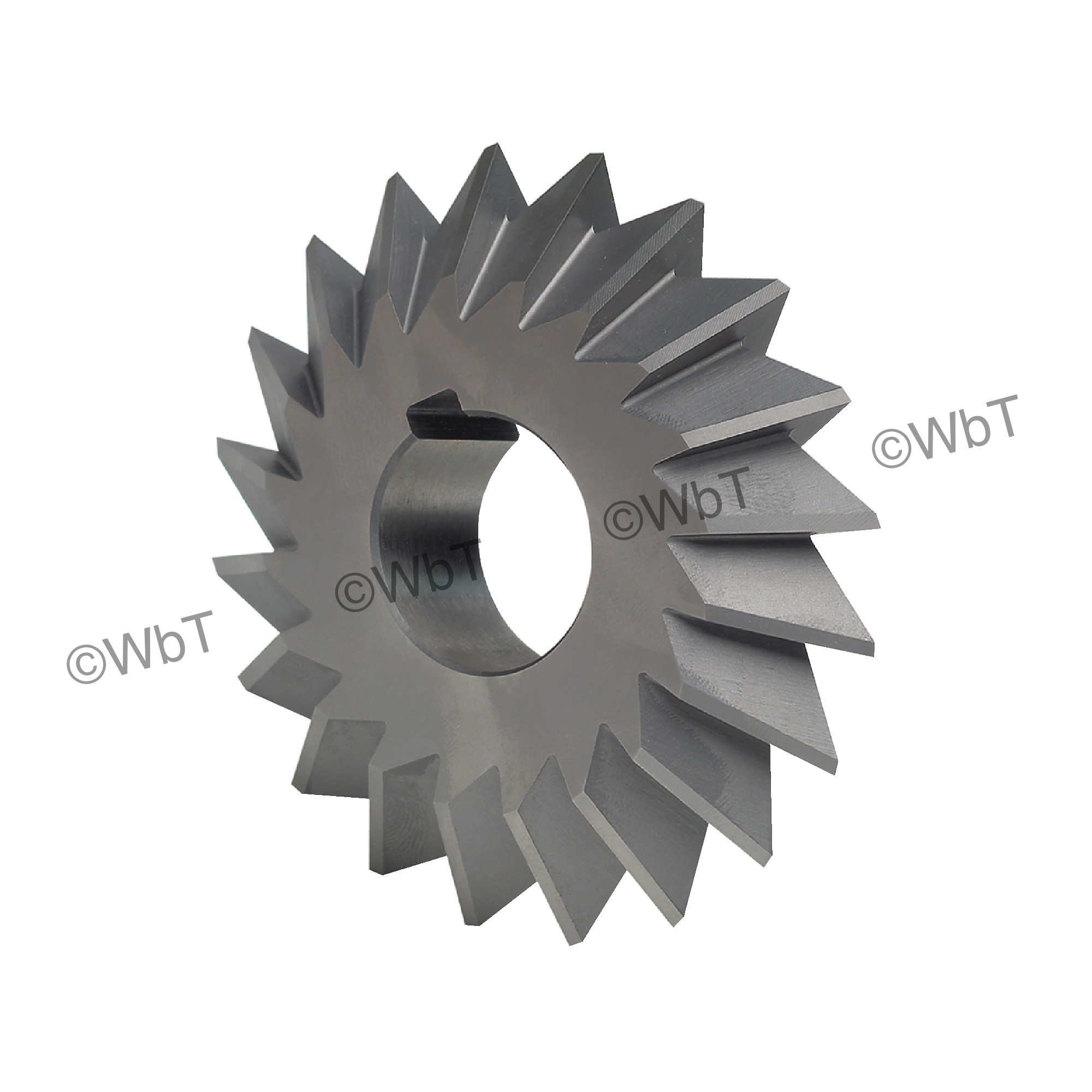 Double Angle High Speed Steel Milling Cutter