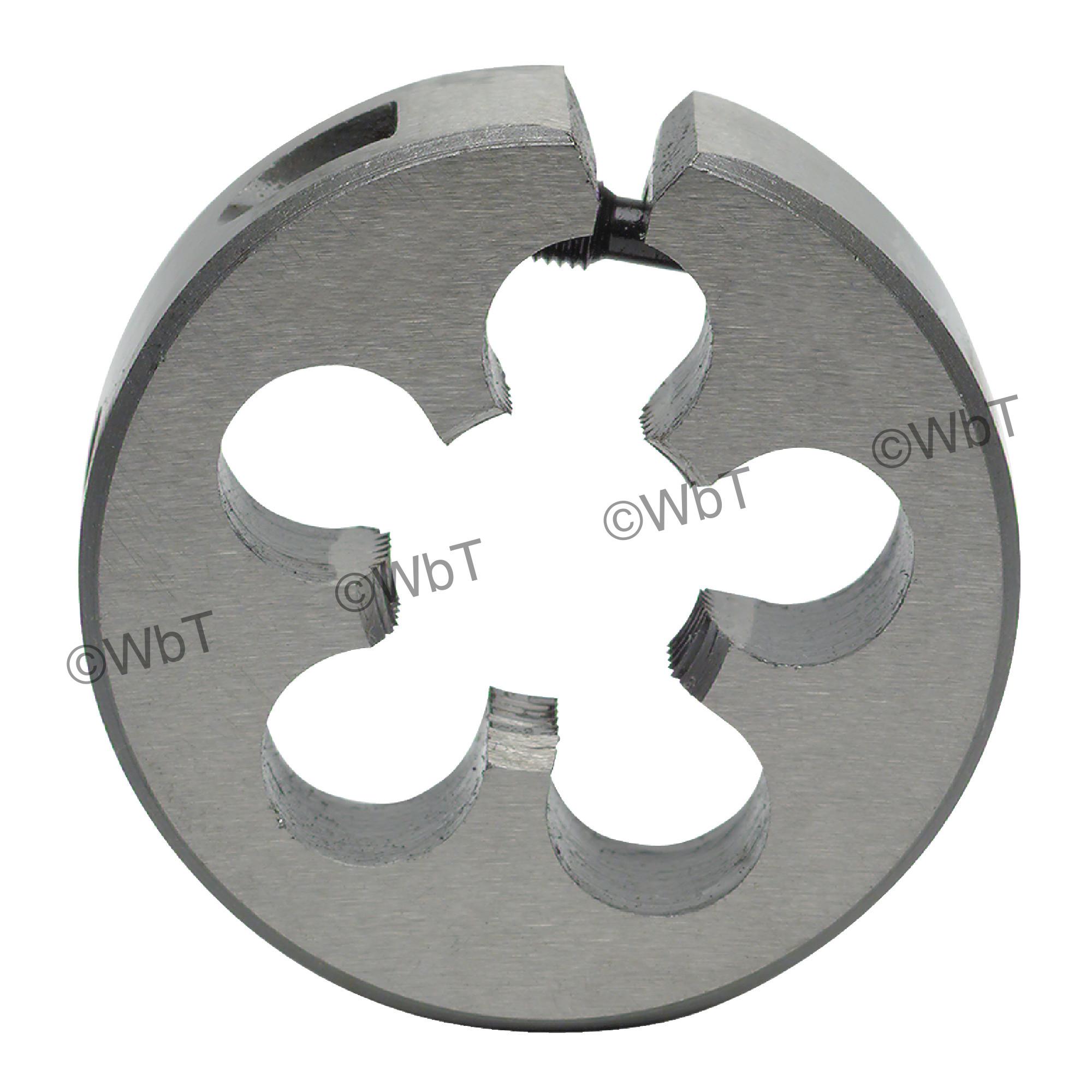 Left Hand High Speed Steel Adjustable Round Split Die