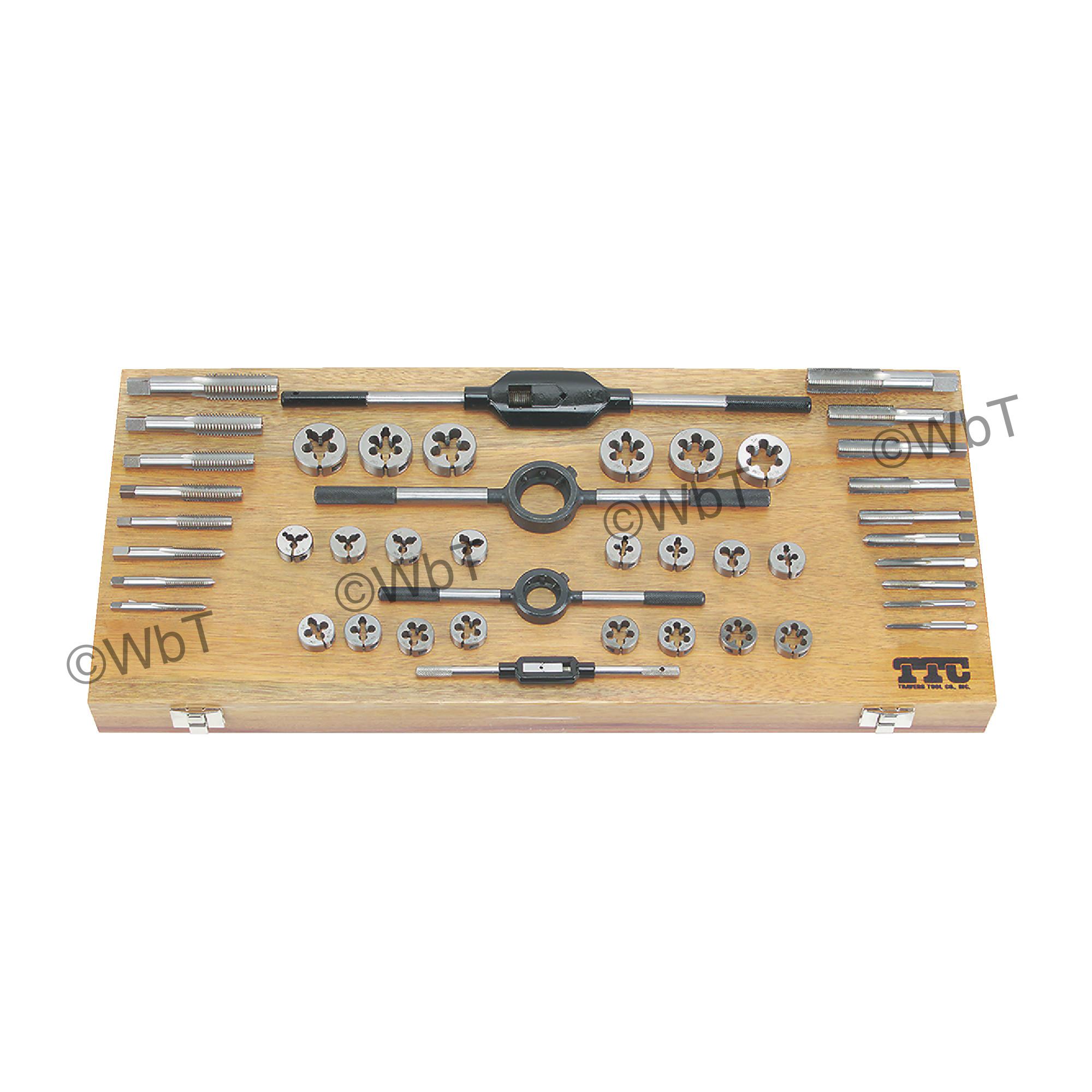 High Speed Steel Master Combination Tap &Die Sets