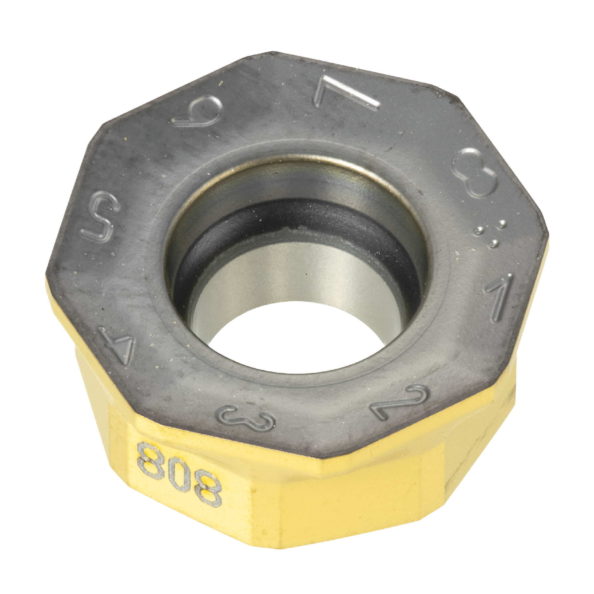 ISCAR - OXMT 0507R08-FF IC808 Octagon / INDEXABLE Carbide MILLING INSERT