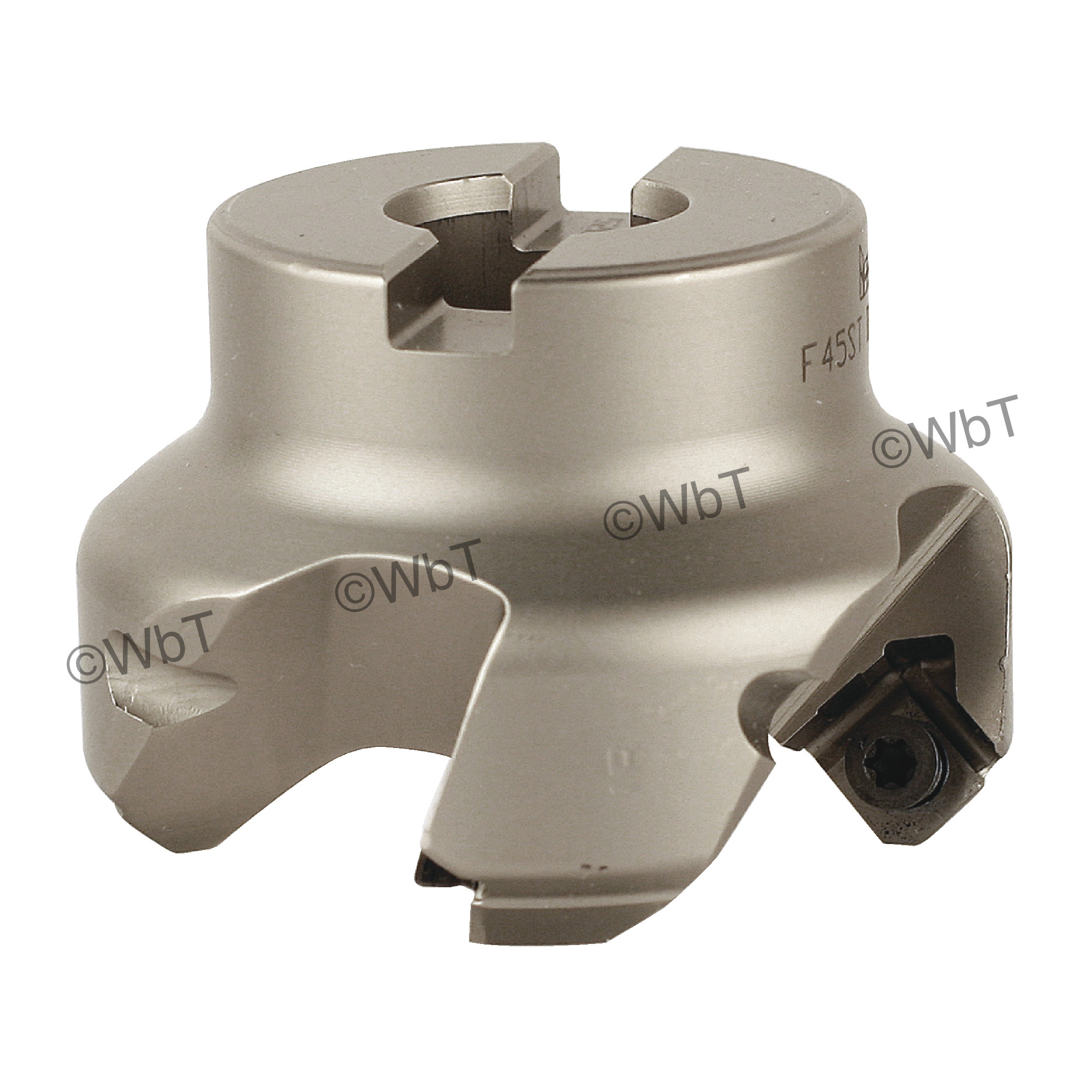"""ISCAR - F45ST-D2.00-.75 / 2.000"""" 45° Face Mill for SEKT43AF_N Inserts / Right Hand"""