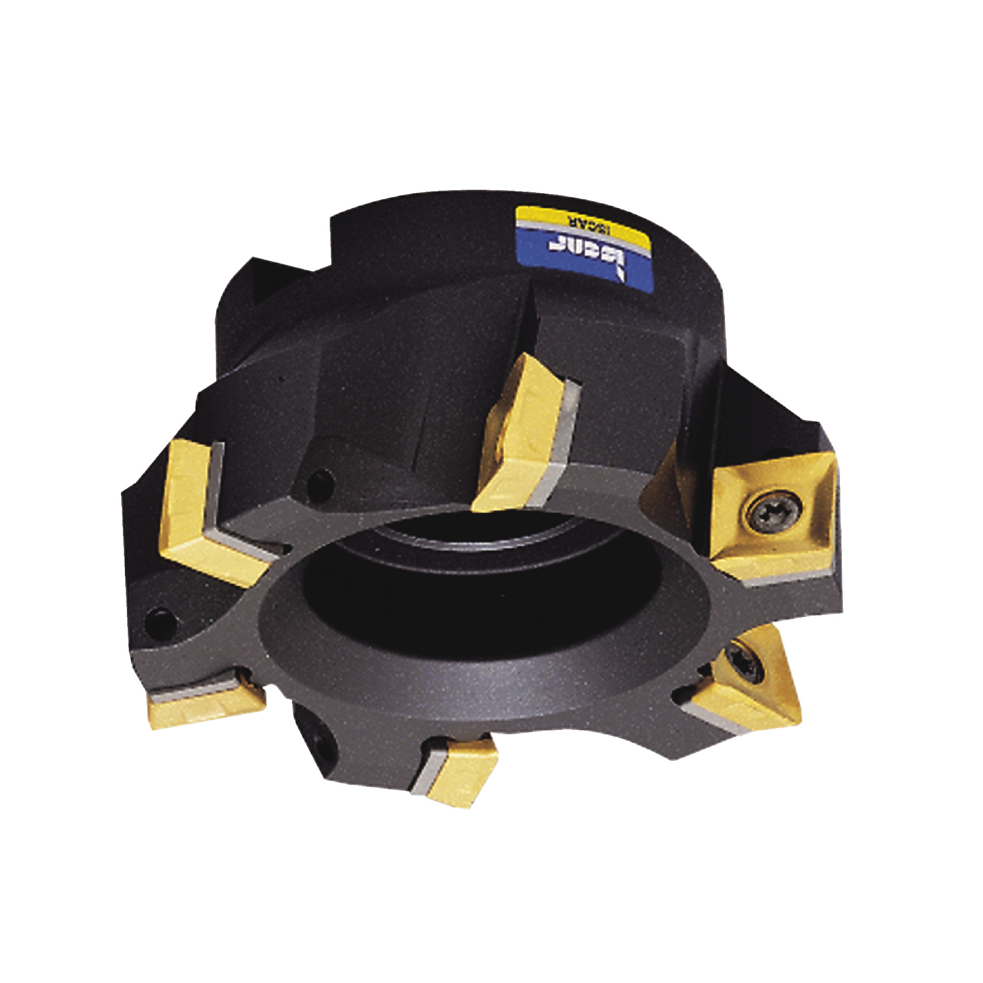"""ISCAR - F90SD D2.5-1.00-CP12 / 2.500"""" Face Mill for SDMT1205 Inserts / Right Hand"""