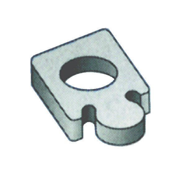 ISCAR Heliquad Square Shoulder Indexable Face Mills - MODEL: TSD-12T3N   For Tool Holders: F90SD   Rake Angle: 90°