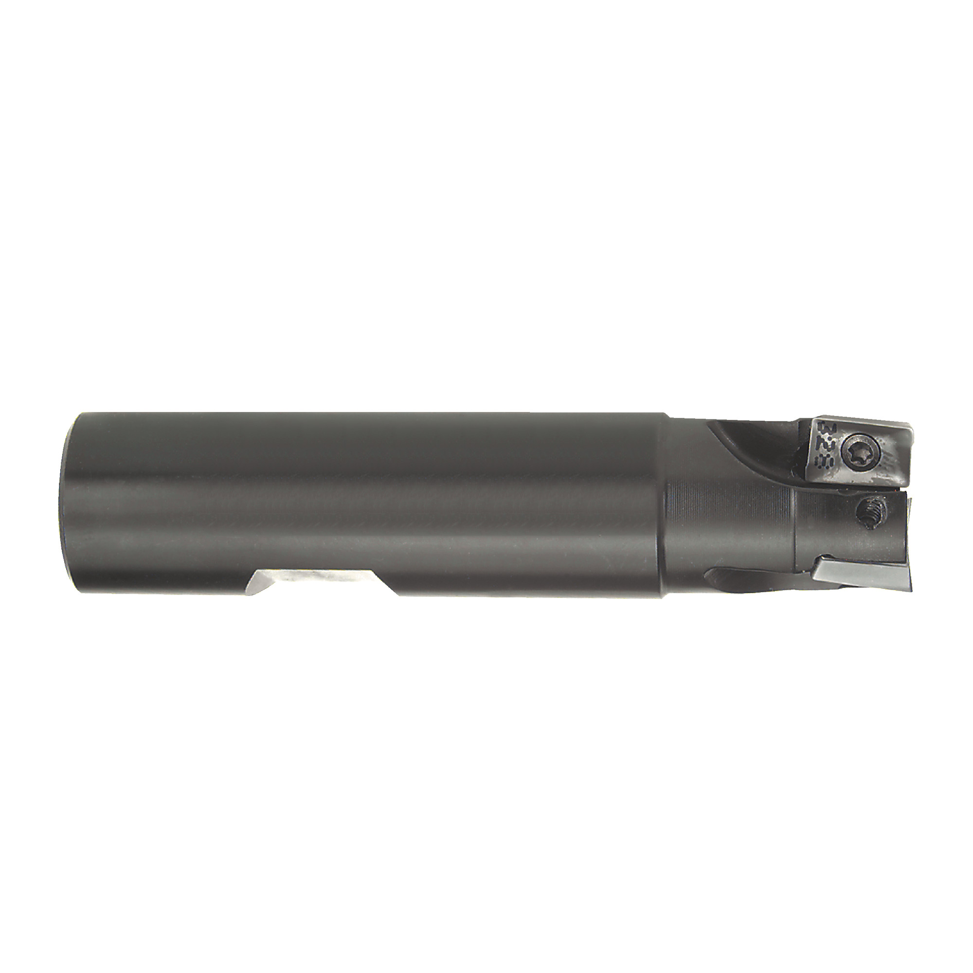 """ISCAR - HM90 E90A D1.00-4-W.75 / 1.000"""" End Mill for APKT1003 Inserts / Right Hand"""