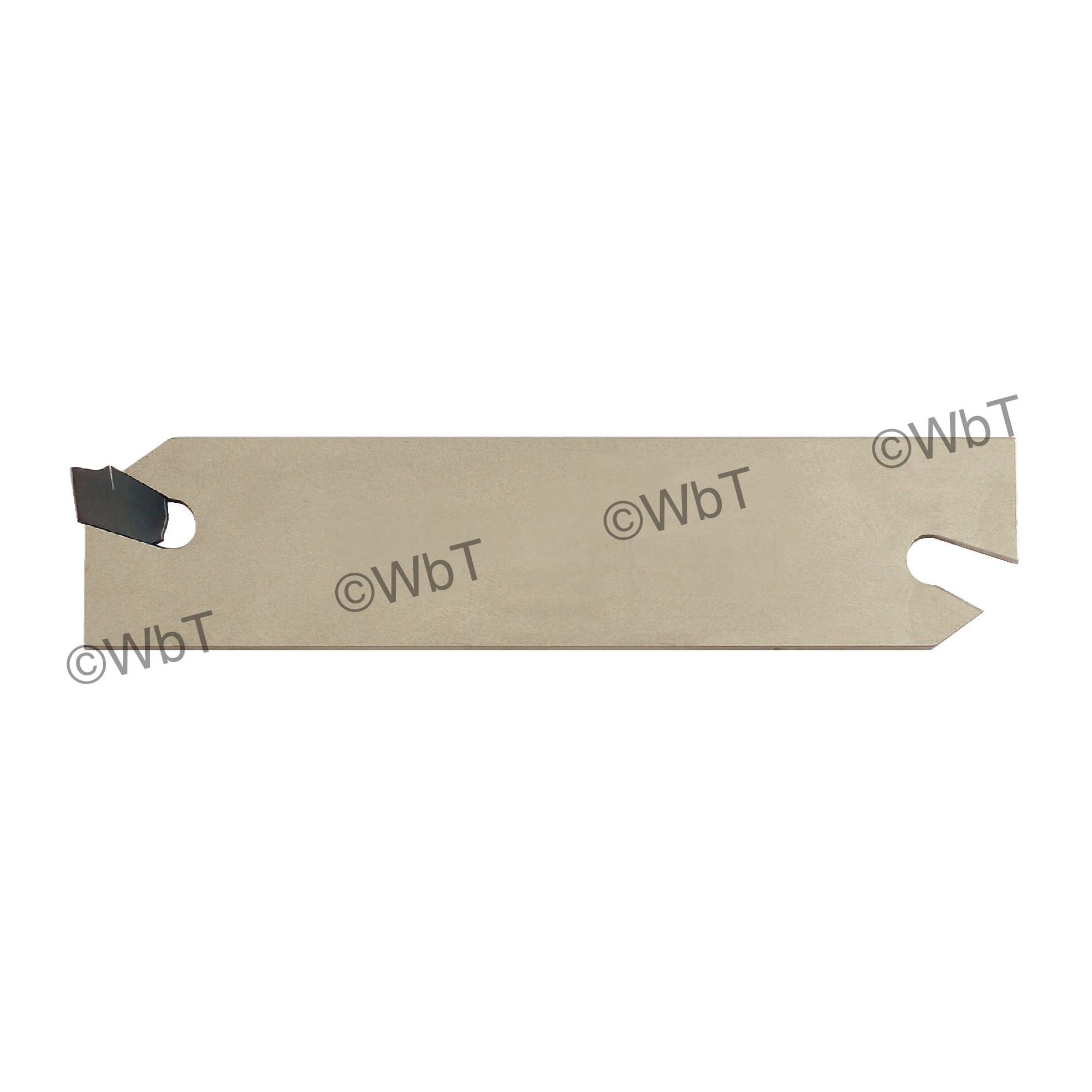 "ISCAR - SGIH 26-3 Parting Blade / GTN 3 Inserts / 1.00"" (26mm) Blade Height / NEUTRAL"
