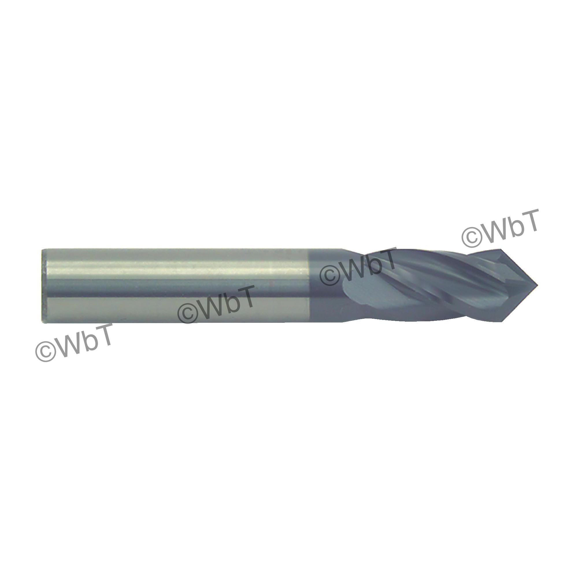 Multi-Use Solid Carbide Single End Drill Mill