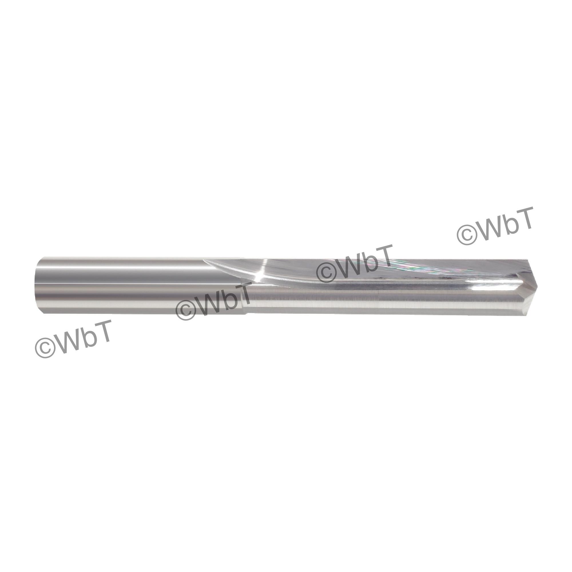 1.0MM Carbide Straight Flute Drill