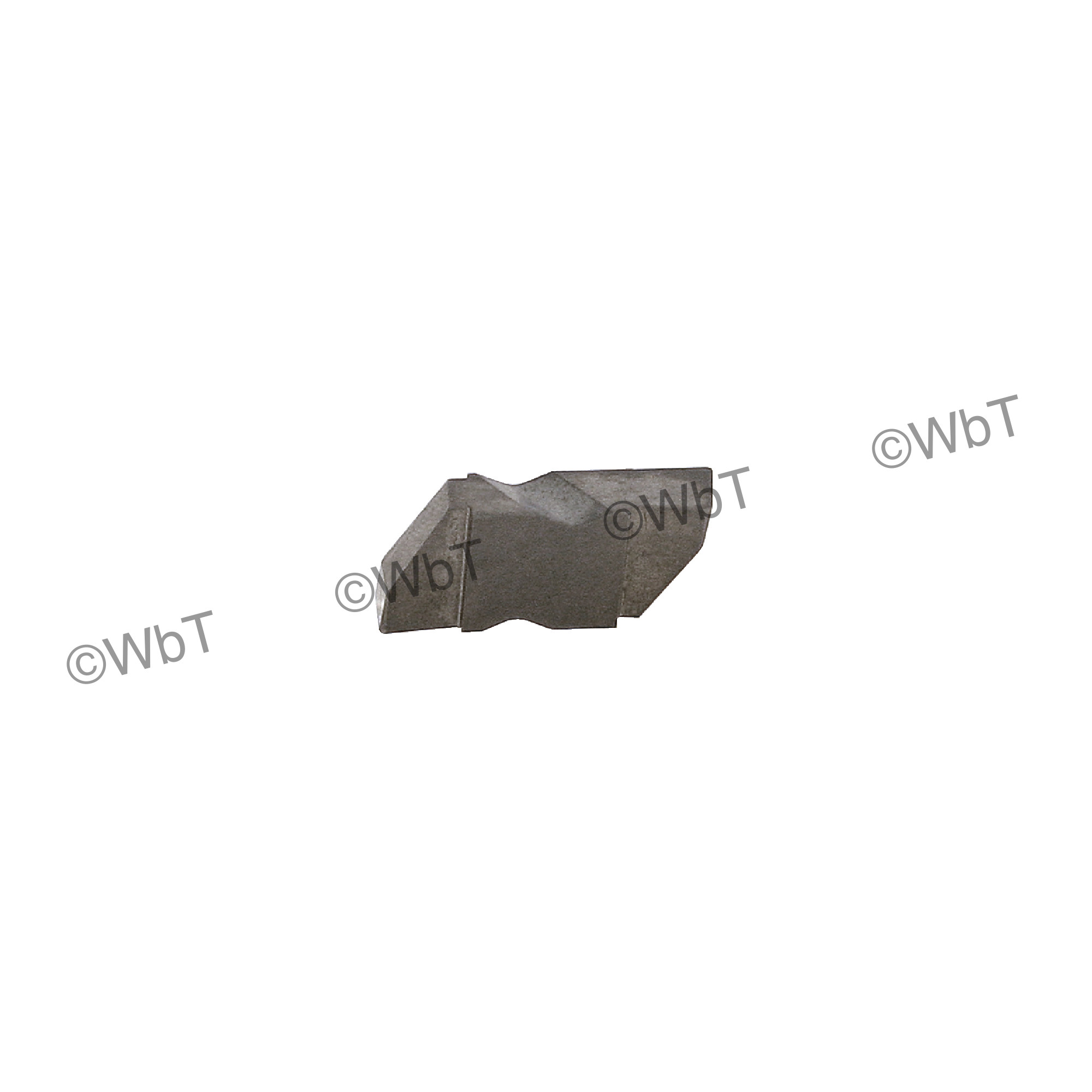 """TERRA CARBIDE - TNG 2031L APC2 / Top Clamp Indexable Carbide Insert / 0.031"""" Cutting Width / Left Hand"""