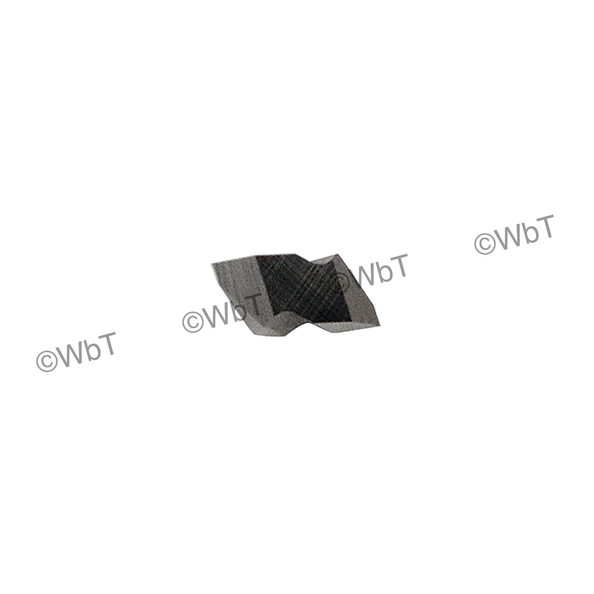 TERRA CARBIDE - TNT2R APC2 / Top Clamp INDEXABLE CARBIDE THREADING INSERT / 60°  V-THREADING / Right Hand