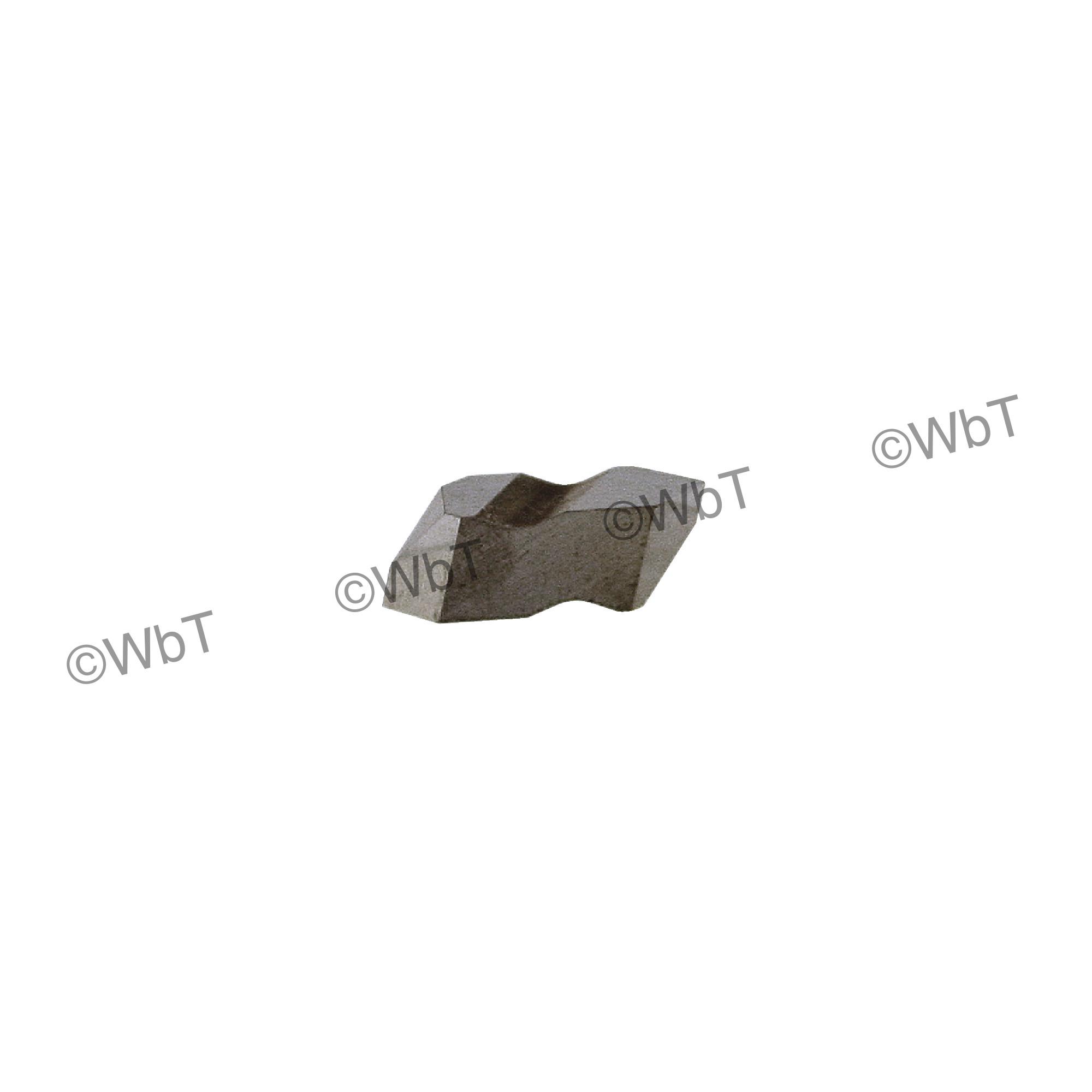 TERRA CARBIDE - TNT2L APC2 / Top Clamp INDEXABLE CARBIDE THREADING INSERT / 60°  V-THREADING / Left Hand