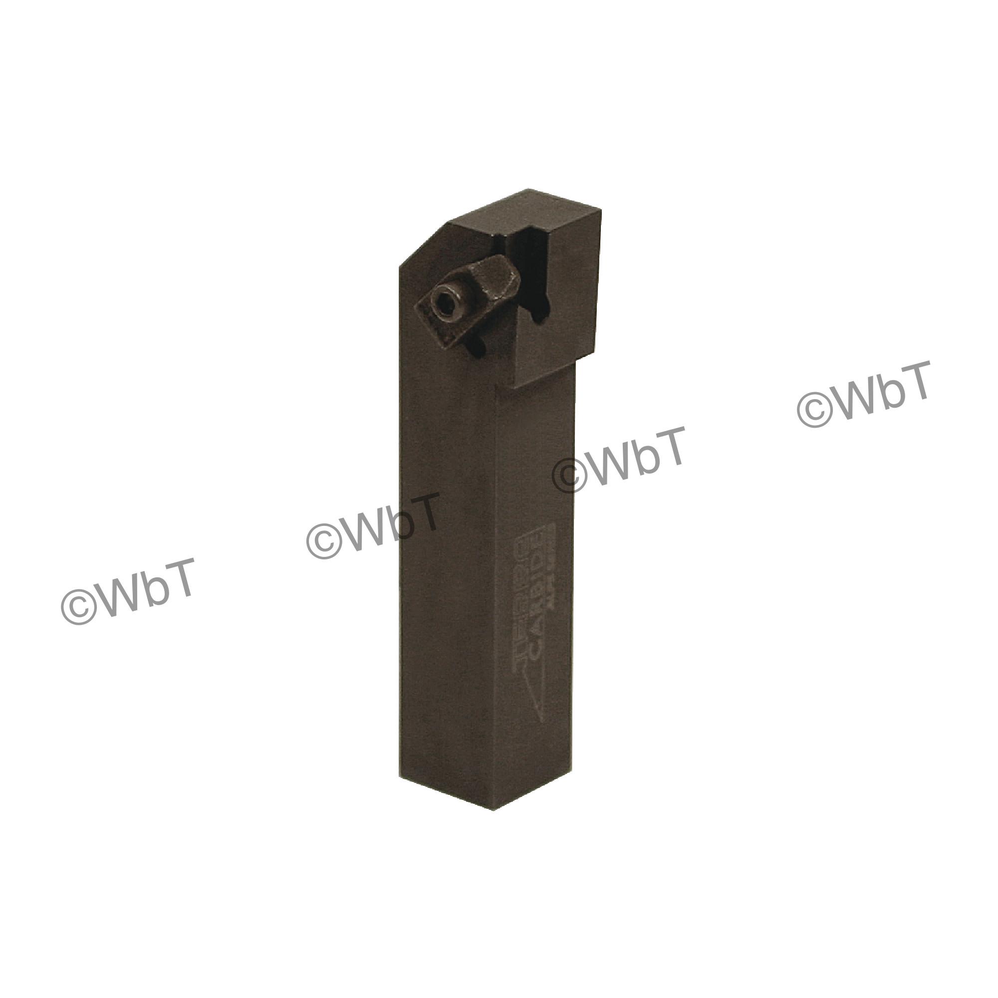 """TERRA CARBIDE - TNSL16-2D / 1.000"""" Shank External Holder / Size 2 Insert / Left Hand"""