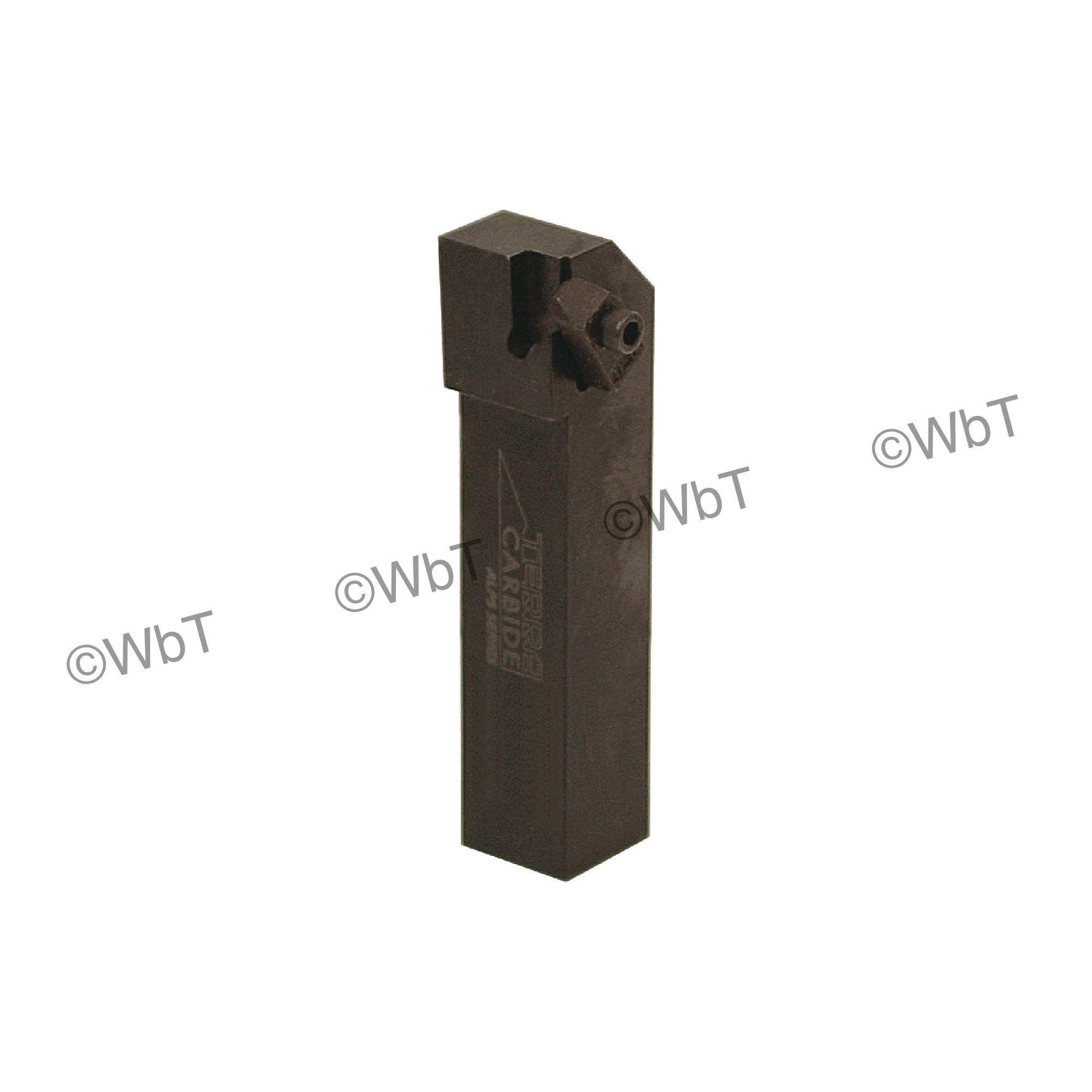 """TERRA CARBIDE - TNSR16-2D / 1.000"""" Shank External Holder / Size 2 Insert / Right Hand"""