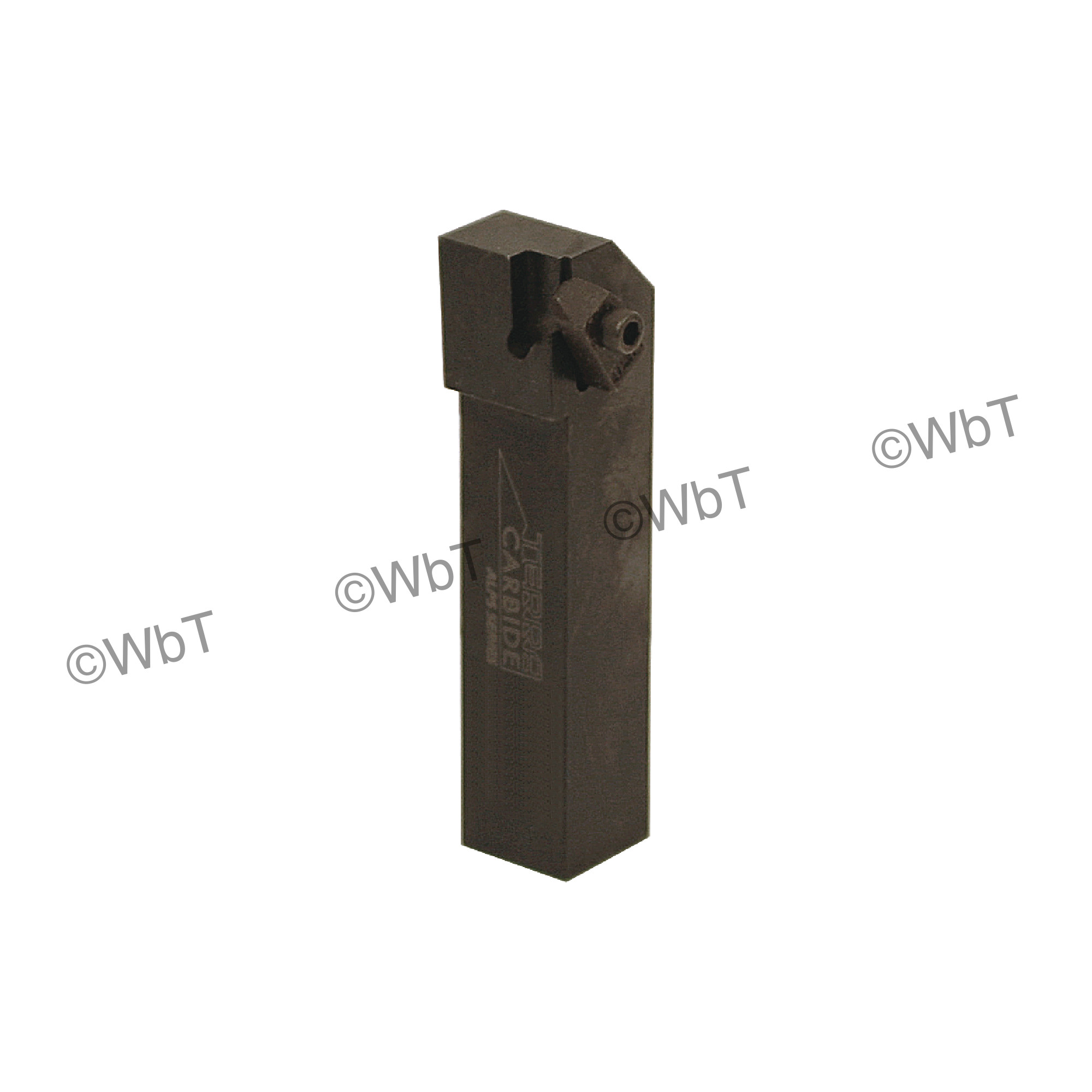 """TERRA CARBIDE - TNSR12-3B / 0.750"""" Shank External Holder / Size 3 Insert / Right Hand"""