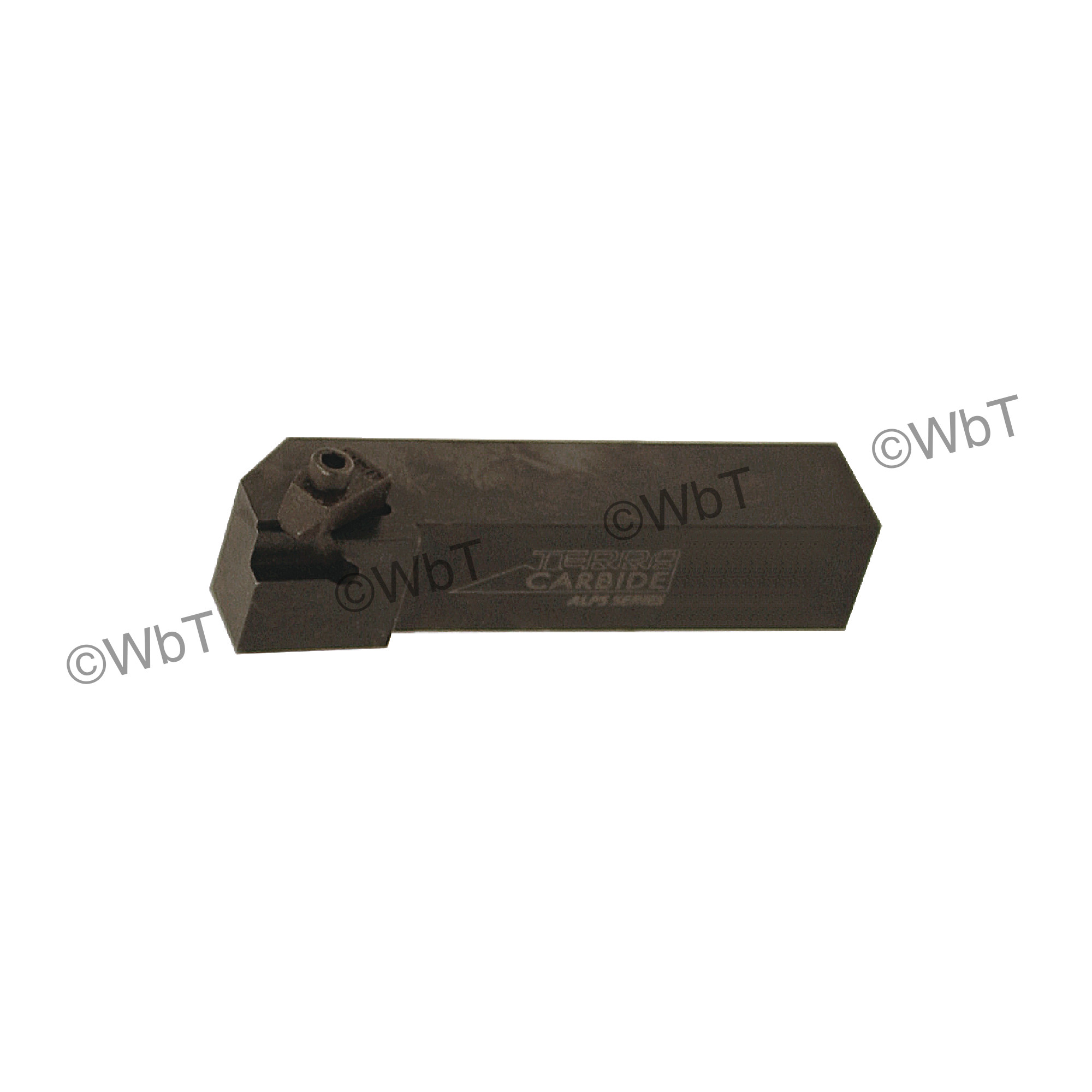 """TERRA CARBIDE - TNSR16-3D / 1.000"""" Shank External Holder / Size 3 Insert / Right Hand"""