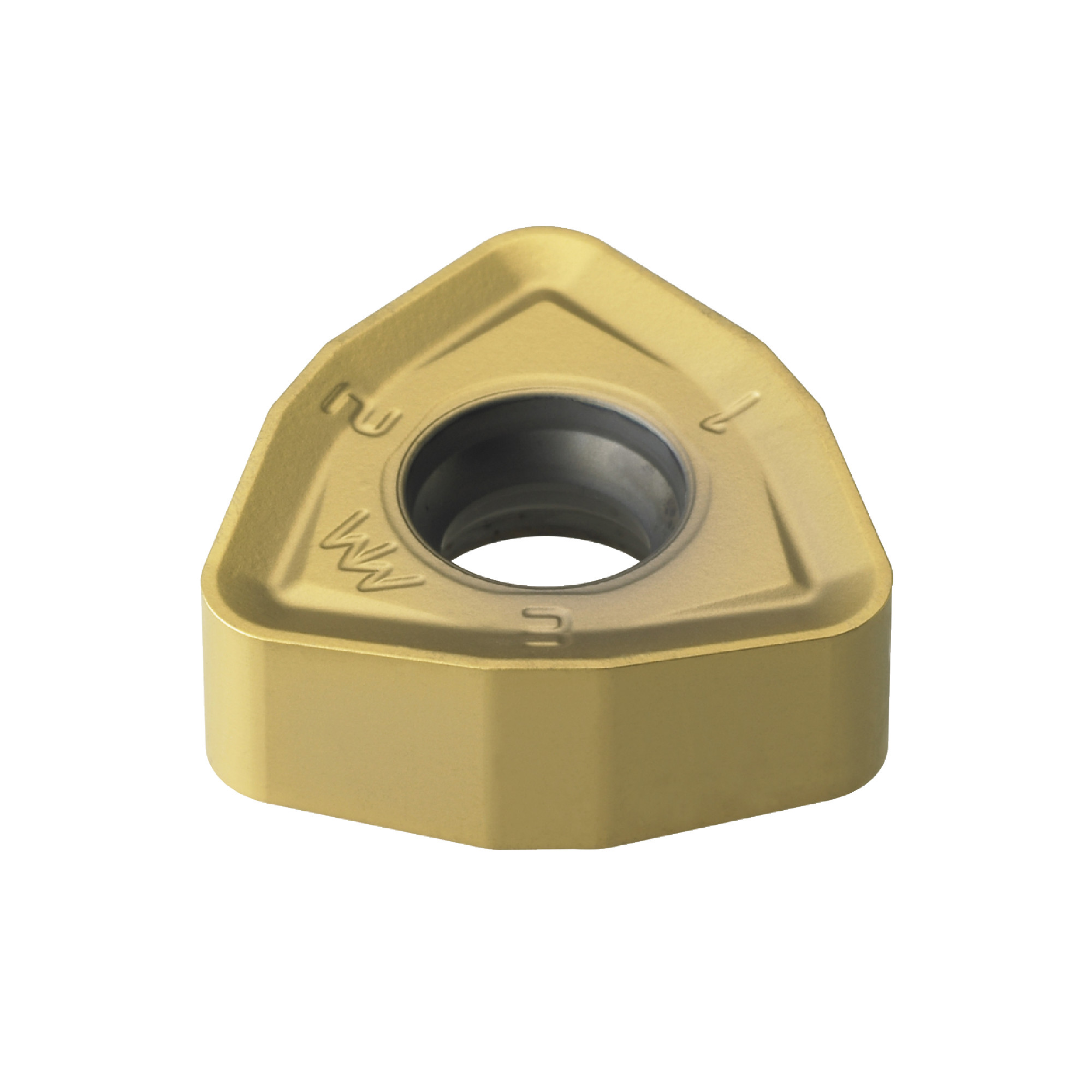 KORLOY - WNMX060312ZNN-MM PC3500 Trigon / INDEXABLE Carbide MILLING INSERT