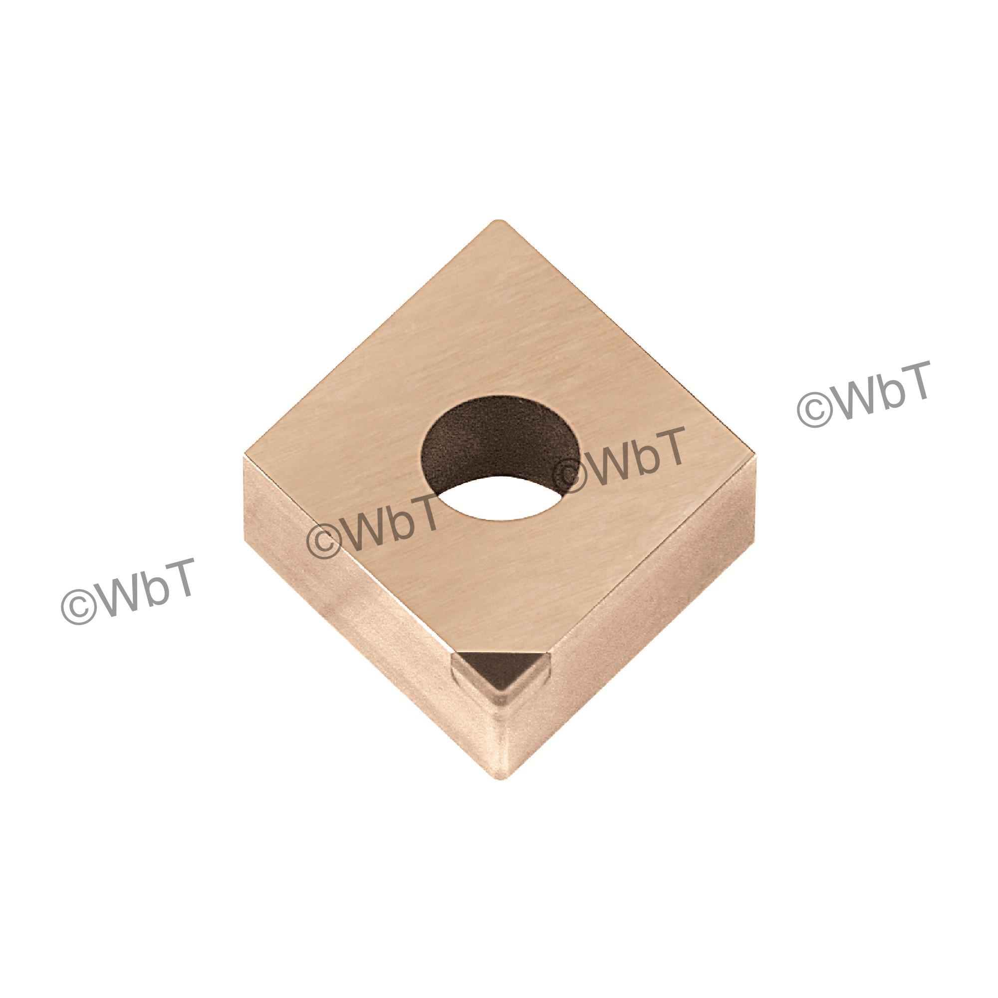 TTC PRODUCTION - DNGA431 PCD15 - 55° Diamond / Indexable PCD - Polycrystalline Diamond Turning Insert