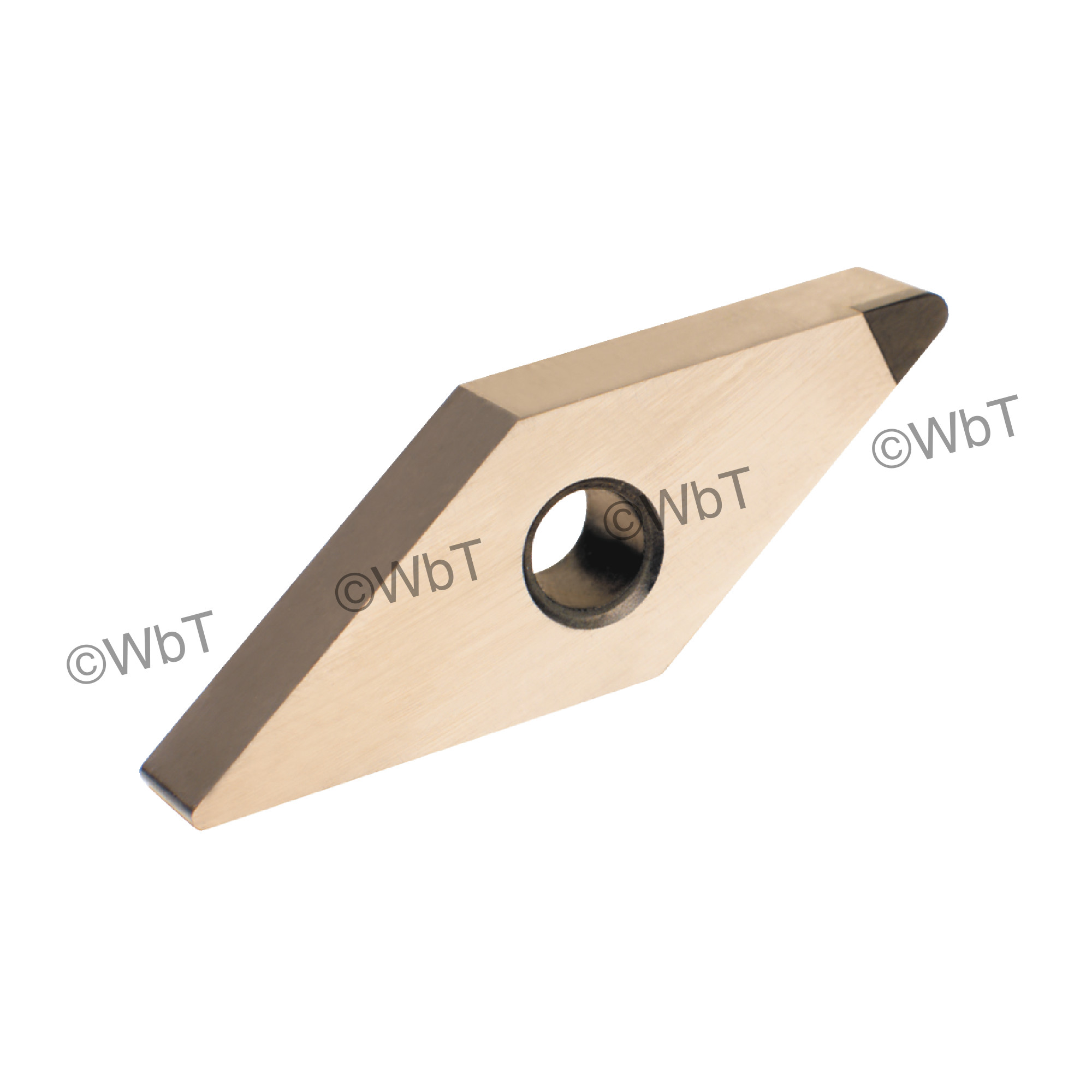 TTC PRODUCTION - VNGA331 CBN8 - 35° Diamond / Indexable CBN - Cubic Boron Nitride Turning Insert