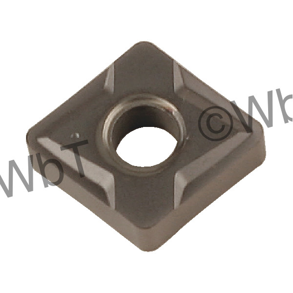 LAMINA - DCMT2(1.5)1-NN LT10 - 55° Diamond / Indexable Carbide Turning Insert