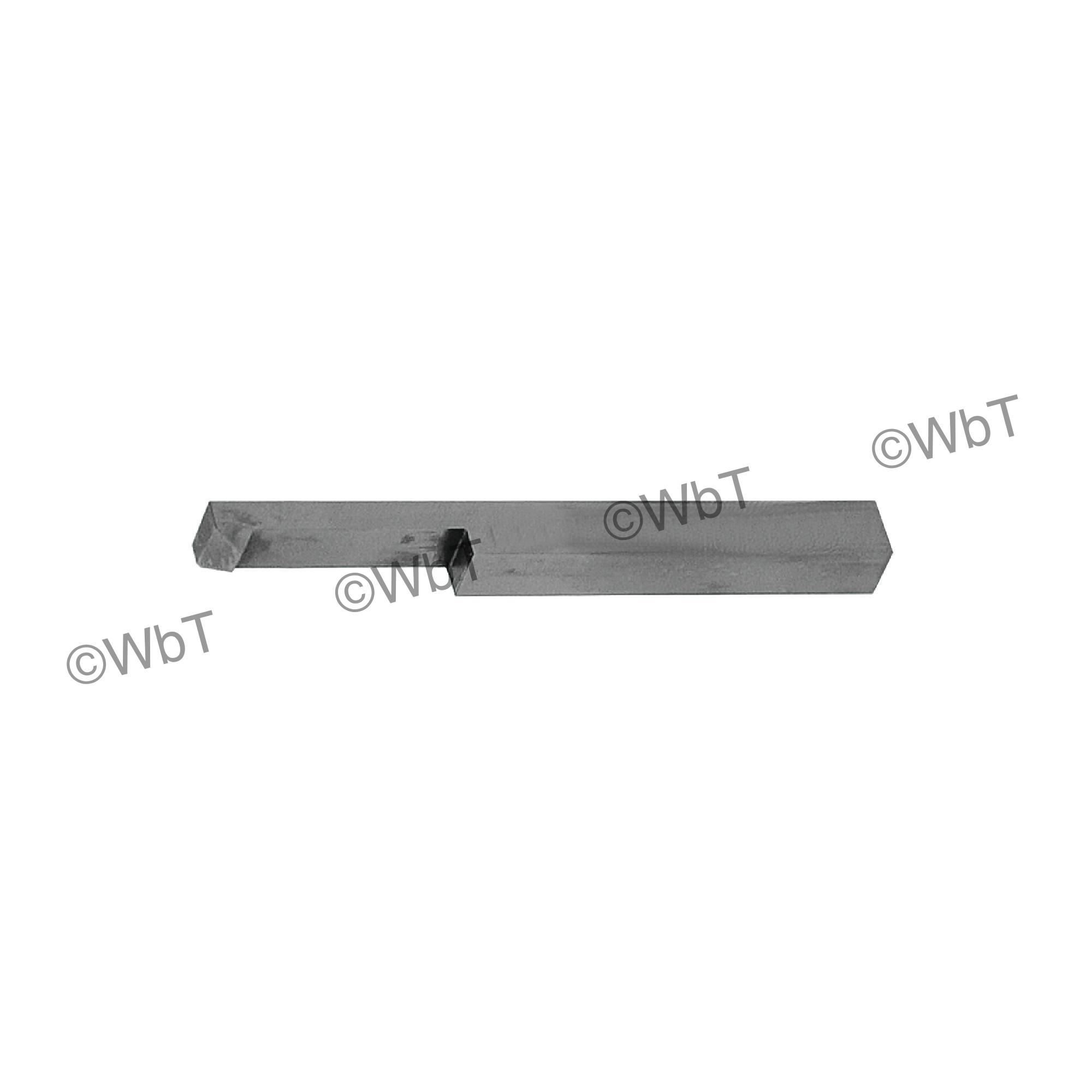 "1/2"" Internal Threading Tool High Speed Steel Lathe Tool"