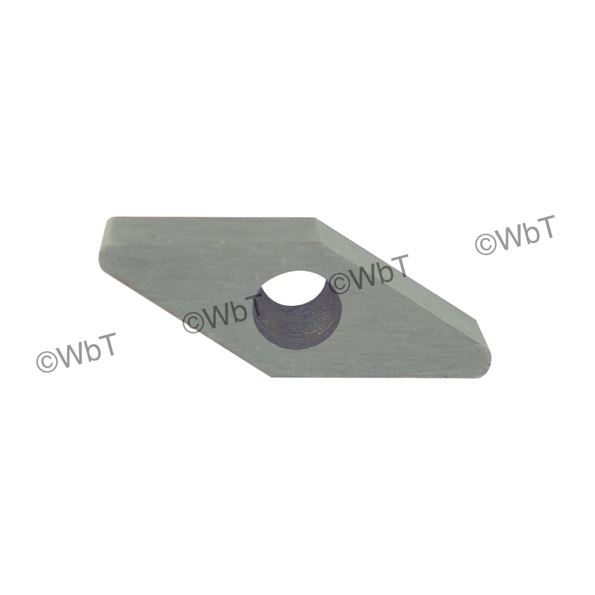 TTC PRODUCTION - VCMW221 HSS - 35° Diamond / Indexable HSS - High Speed Steel Turning Insert