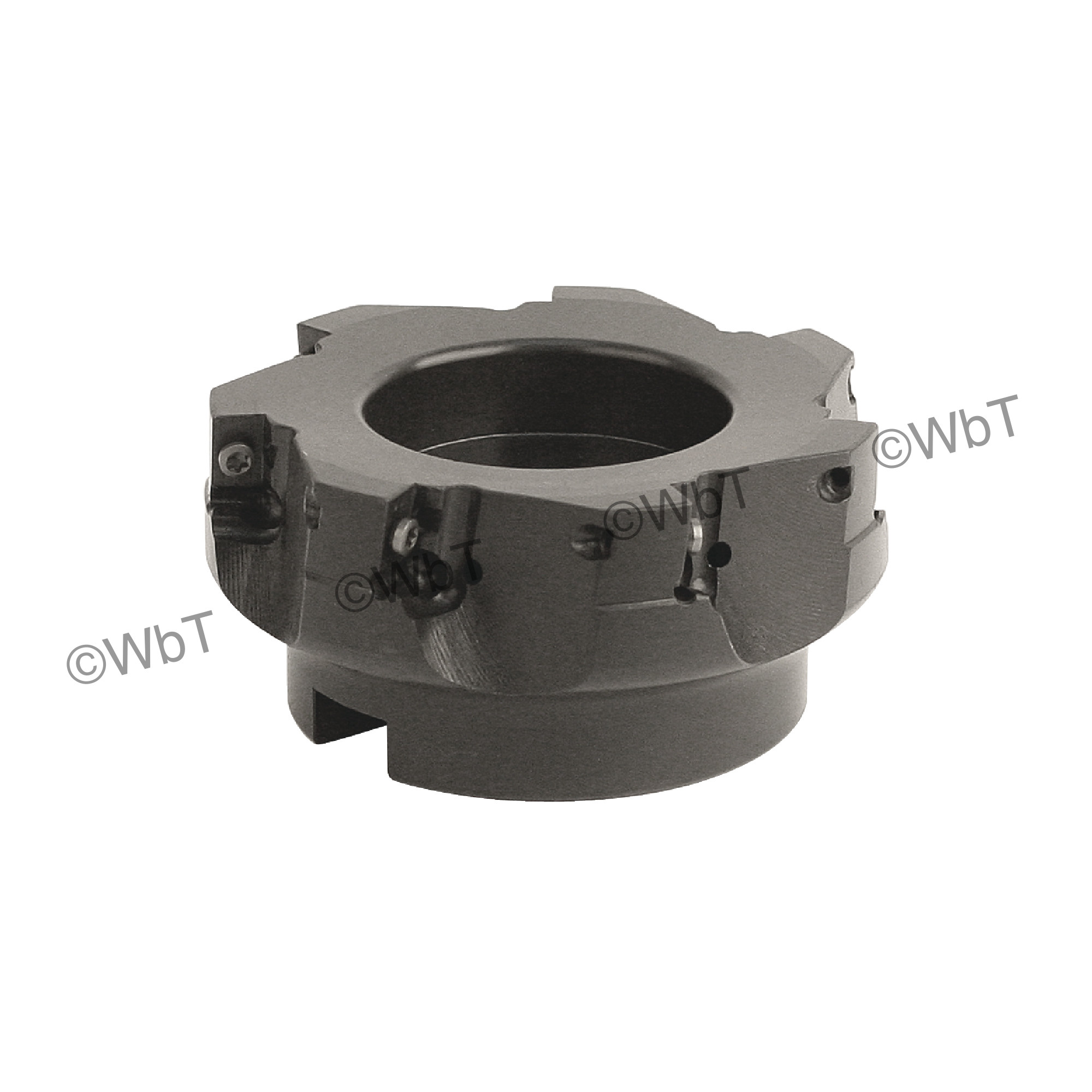 """AKUMA - APPC.16.400R-8 / 4.000"""" Face Mill for APKT1604 Inserts / Right Hand"""