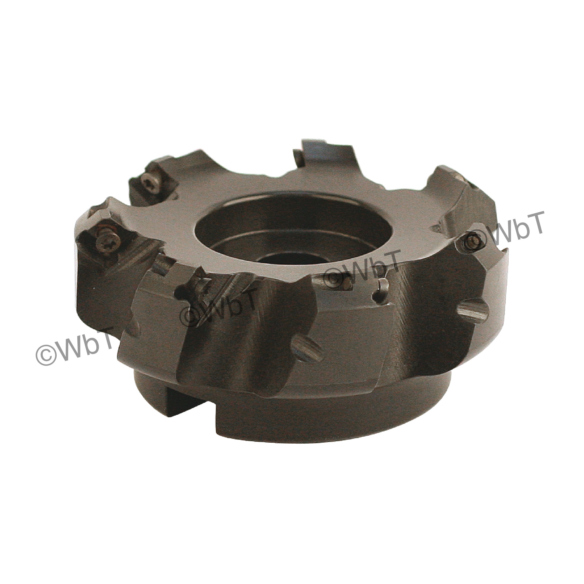 """AKUMA - SEAC.43.400R-7 / 4.000"""" 45° Face Mill for SEHT43AFSN Inserts / Right Hand"""