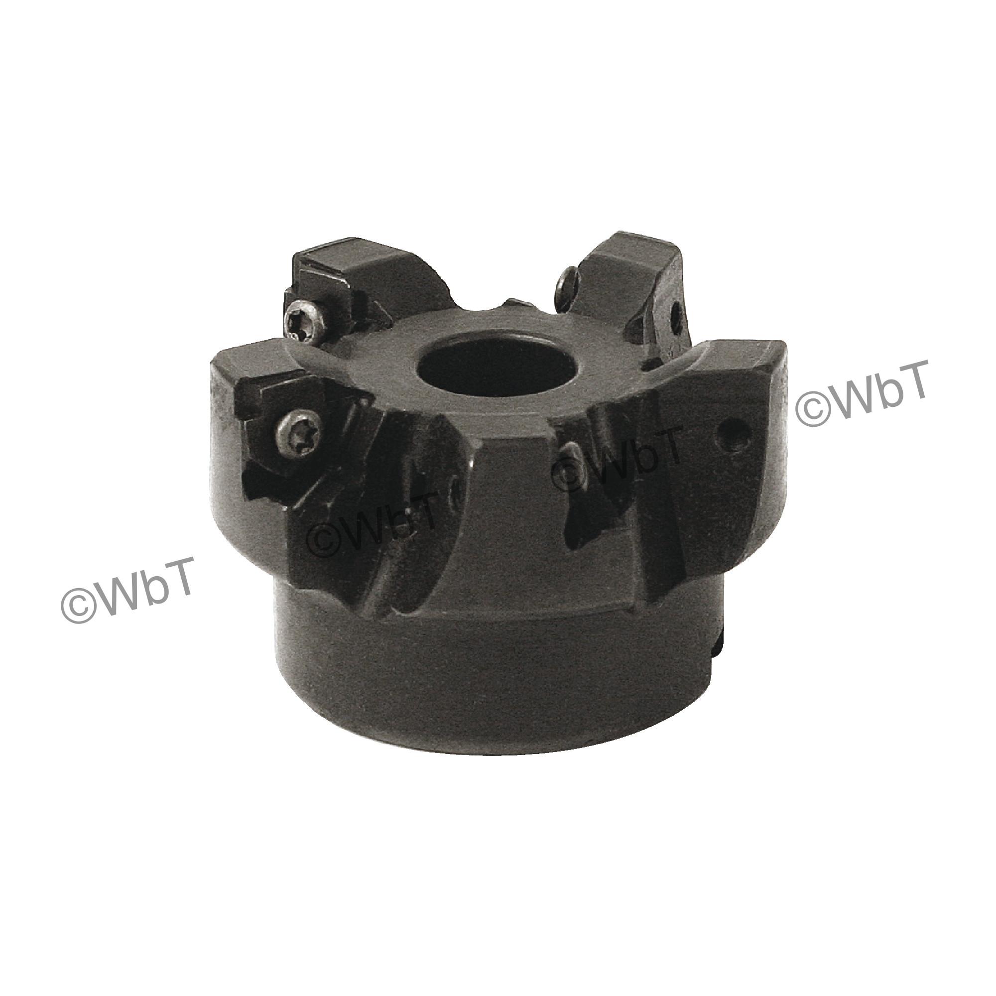 "AKUMA - XNPC.44.250R-5 / 2.500"" Face Mill for XNEX44_R Inserts / Right Hand"