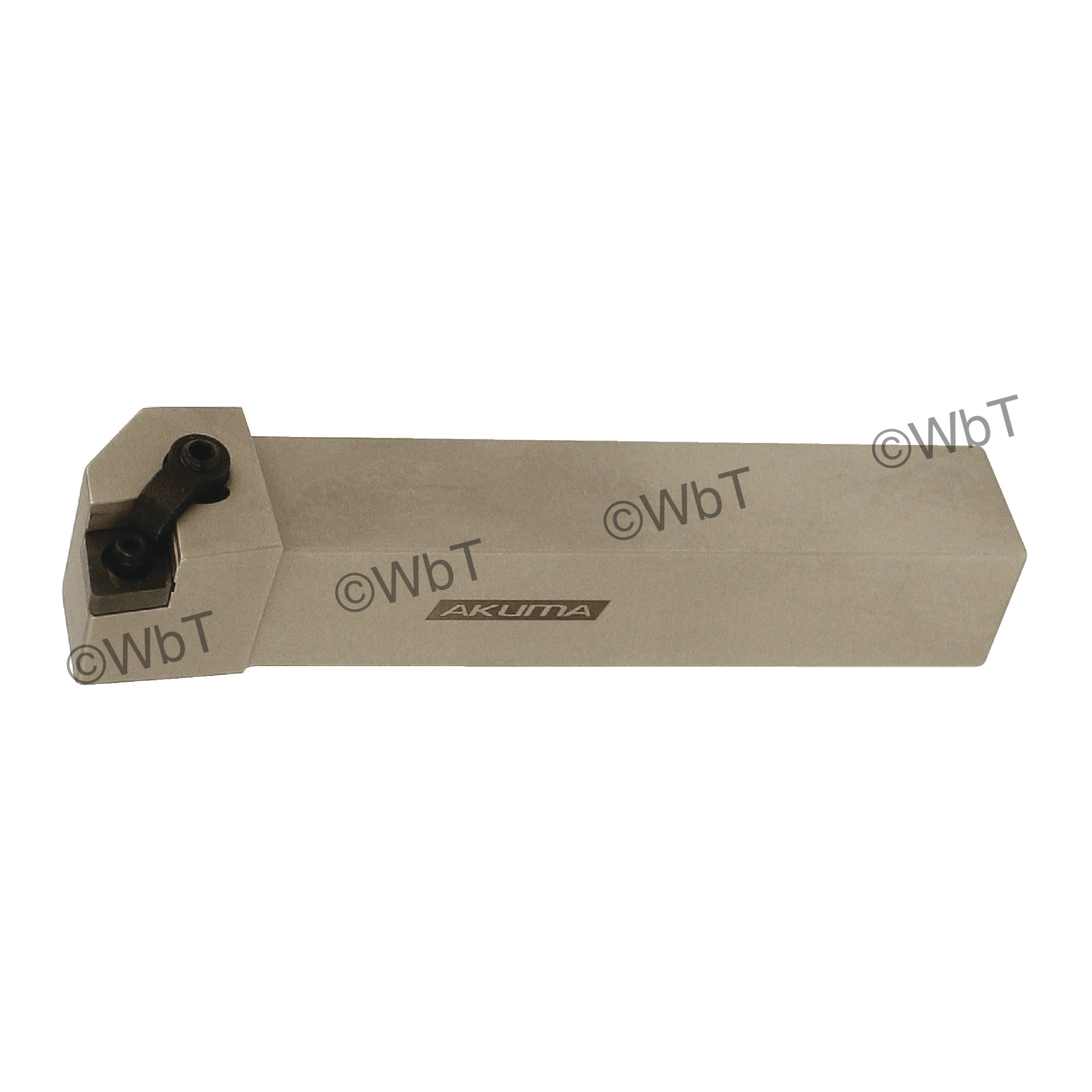 """AKUMA - MCLNR16-4D / 1.000"""" External Turning Holder for CNMG43_ Inserts / Right Hand"""