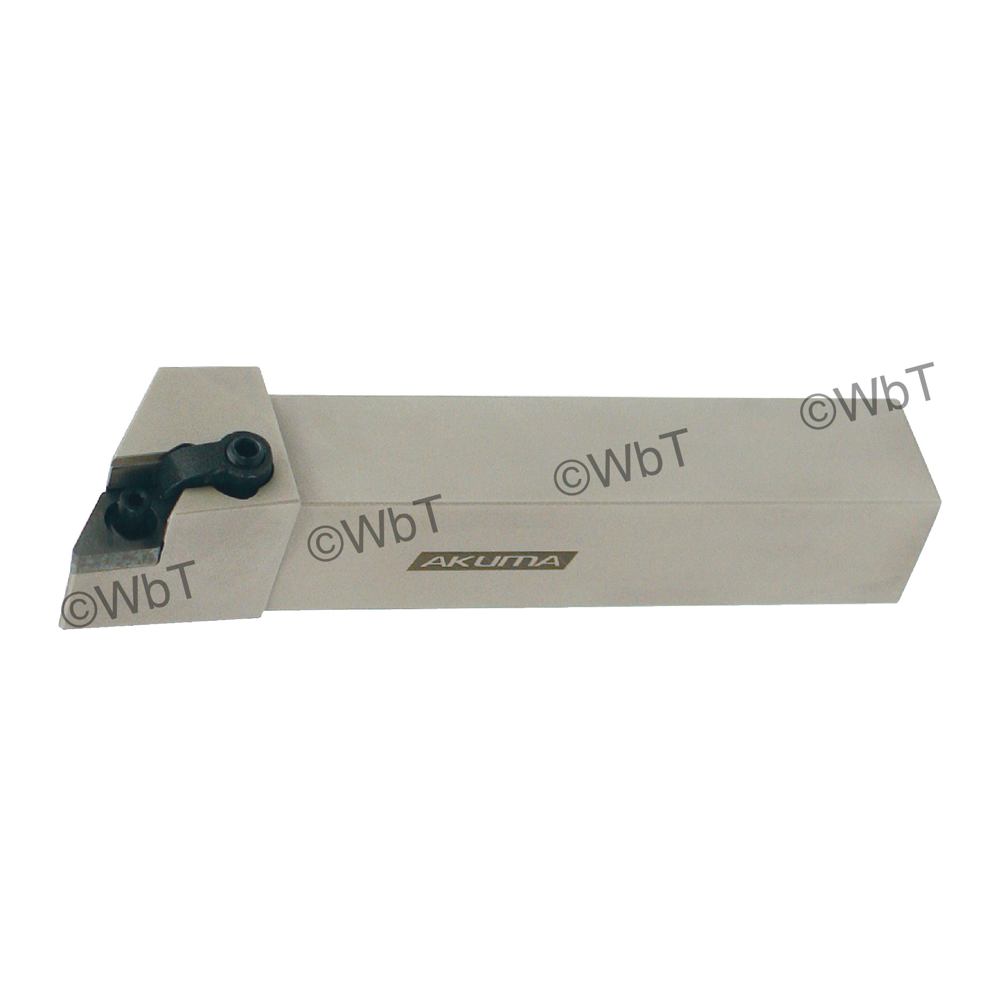 """AKUMA - MDJNL12-4B / 0.750"""" External Turning Holder for DNMG43_ Inserts / Left Hand"""