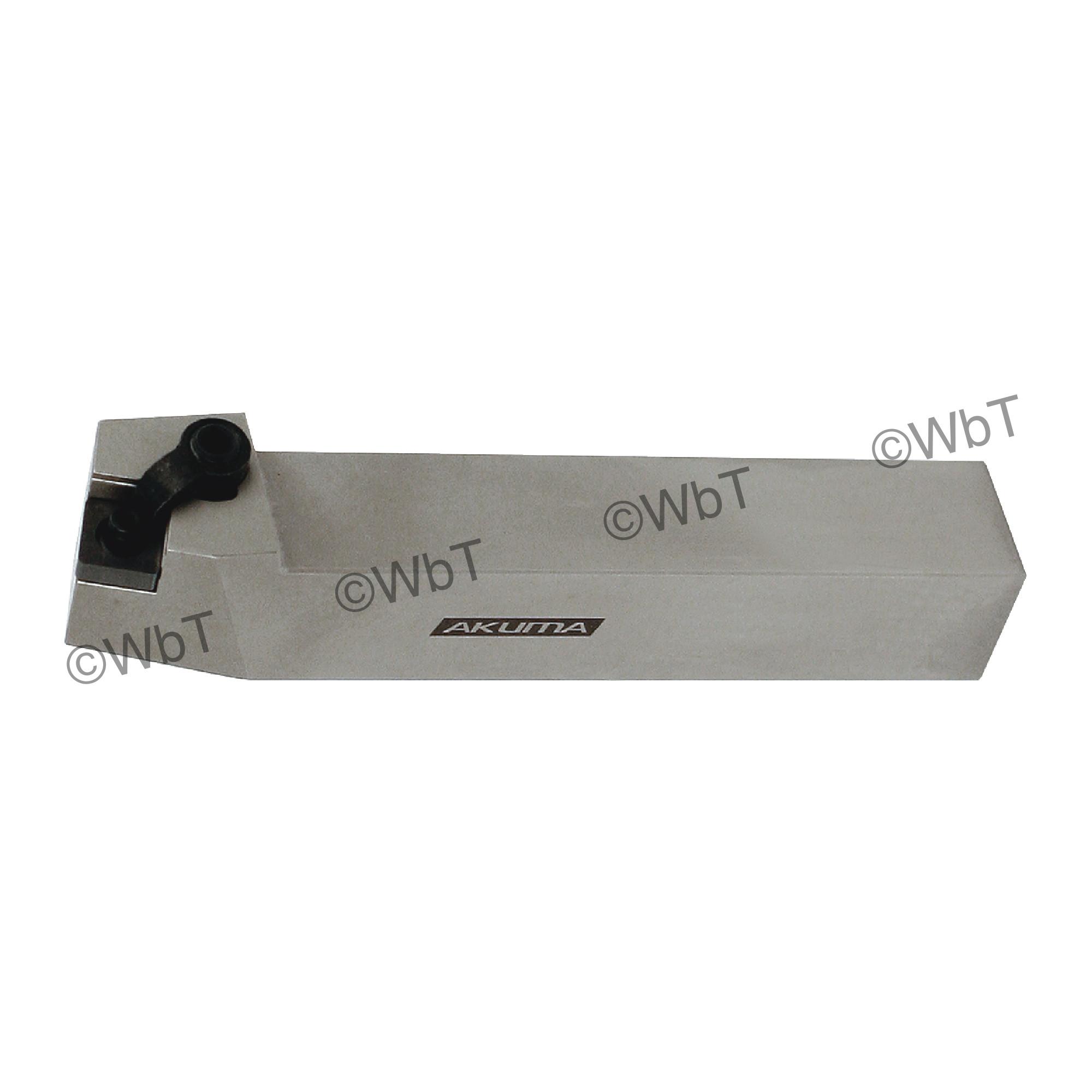 "AKUMA - MSBNR16-4D / 1.000"" External Turning Holder for SNMG43_ Inserts / Right Hand"