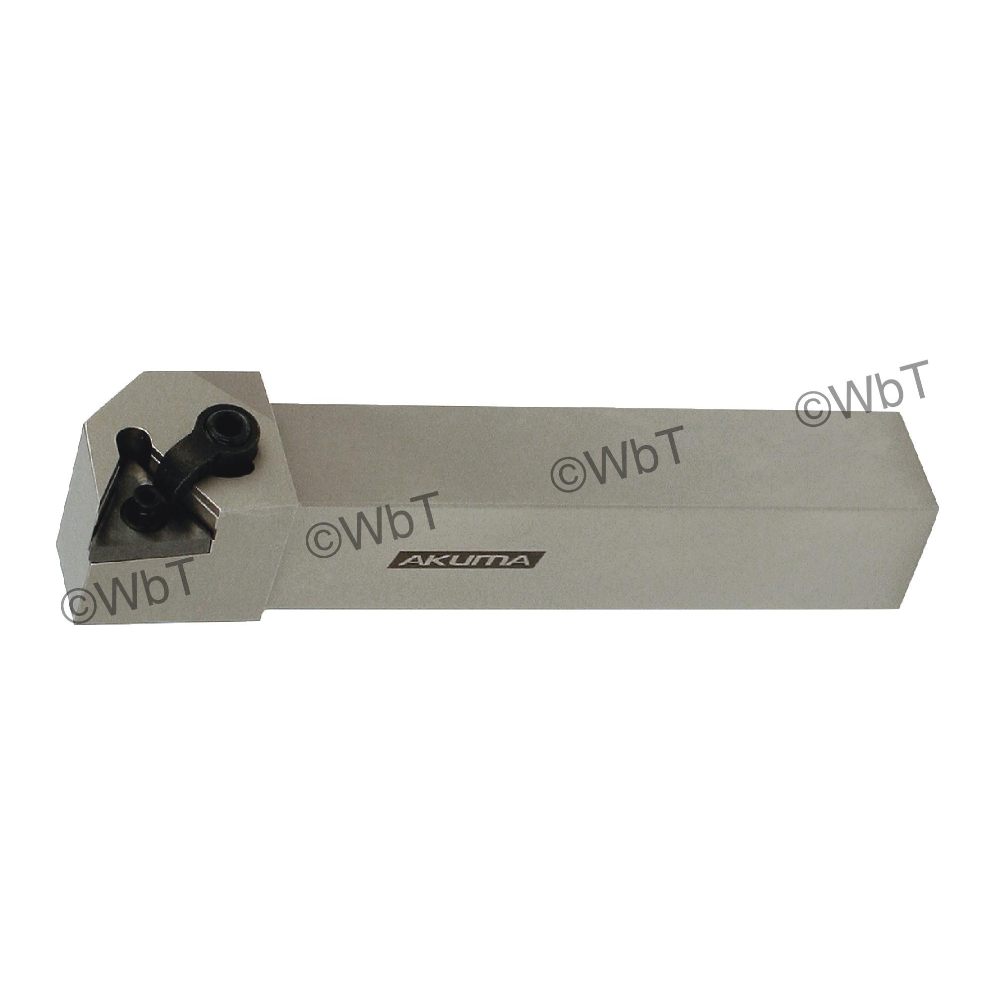"""AKUMA - MTGNL16-3D / 1.000"""" External Turning Holder for TNMG33_ Inserts / Left Hand"""