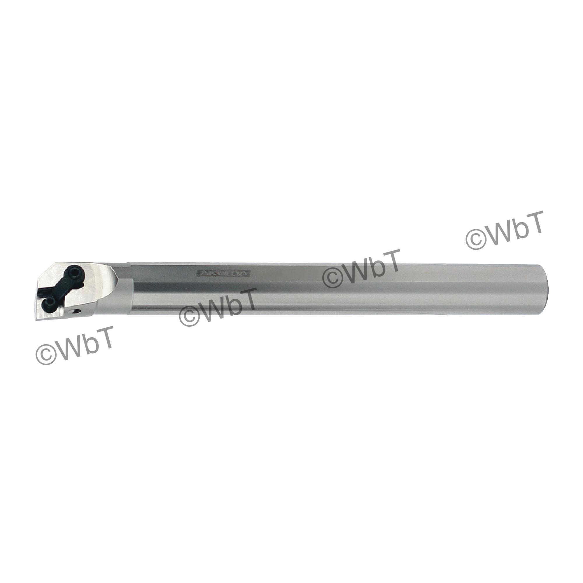 "AKUMA - A16S-MCLNL-4 / Steel Boring Bar / 1.000"" Shank / CNMG43_ / Coolant Thru / Left Hand"