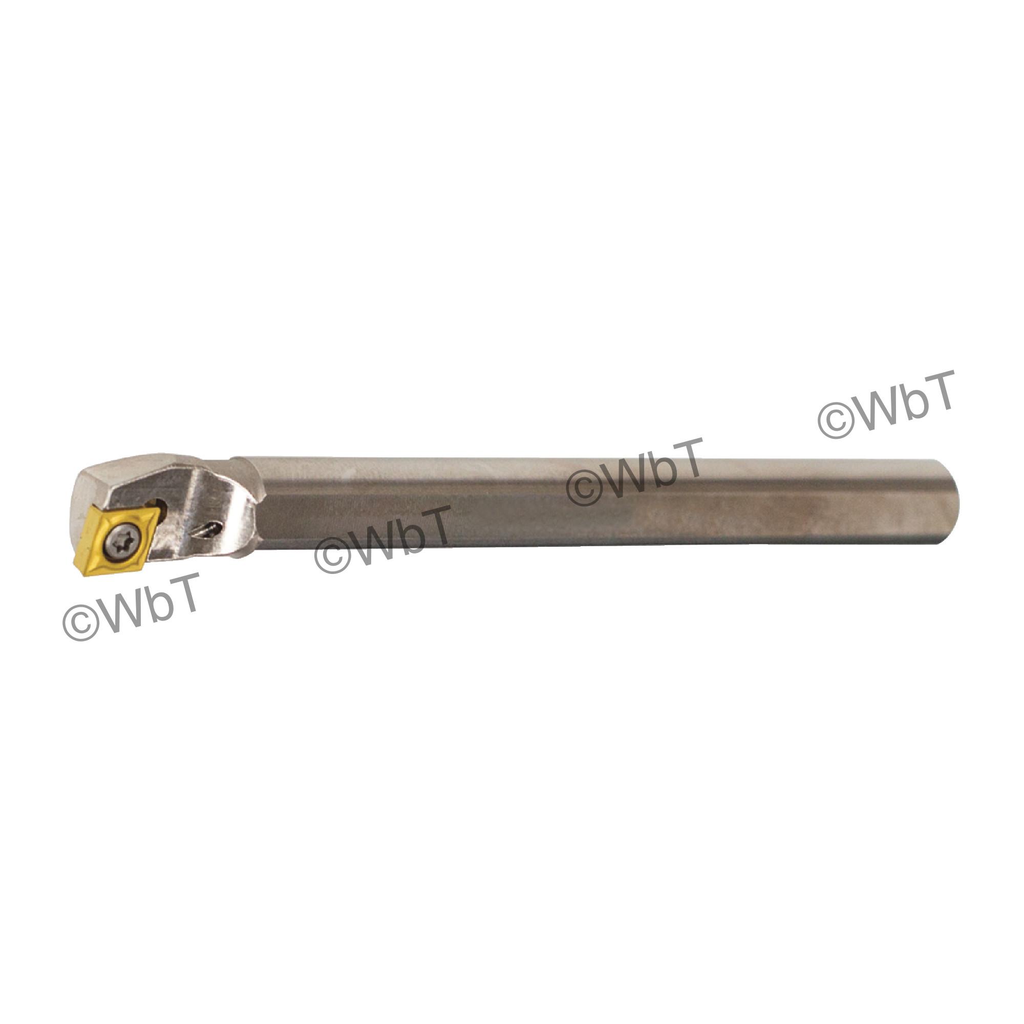 """AKUMA - A06H-SCLCR-2 / Steel Boring Bar / 3/8"""" Shank / CCMT2(1.5)_ / Cooalnt Thru / Right Hand"""