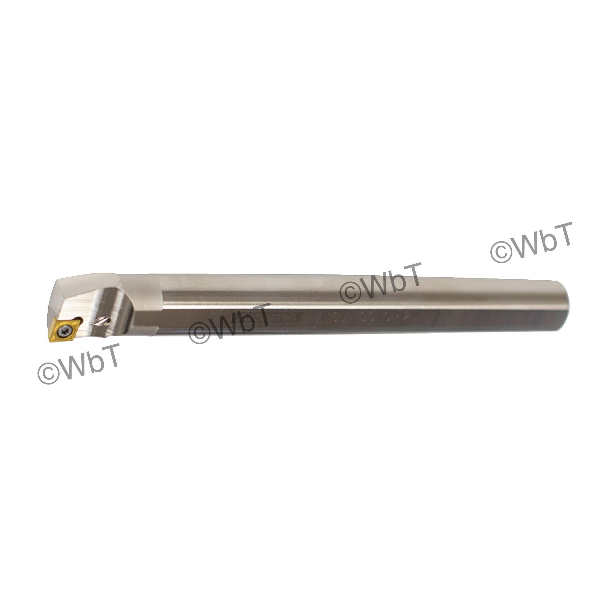 """AKUMA - A10M-SCLCR-2 / Steel Boring Bar / 5/8"""" Shank / CCMT2(1.5)_ / Cooalnt Thru / Right Hand"""