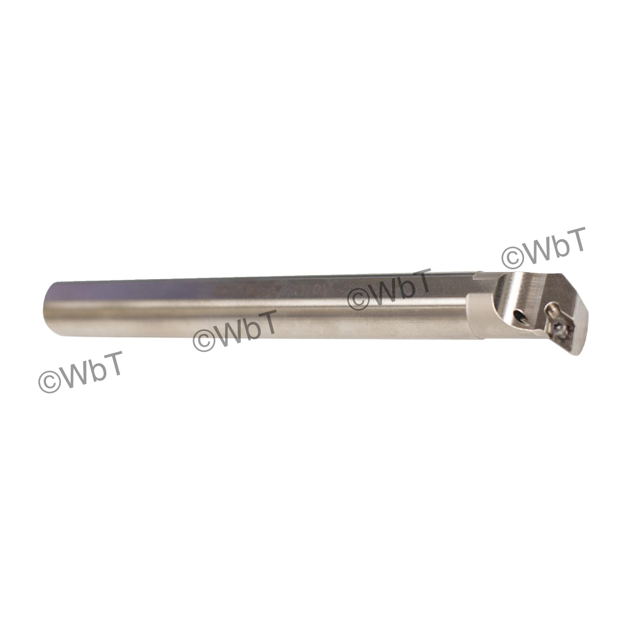 """AKUMA - A10M-SDUCL-2 / Steel Boring Bar / 5/8"""" Shank / DCMT2(1.5)_ / Cooalnt Thru / Left Hand"""